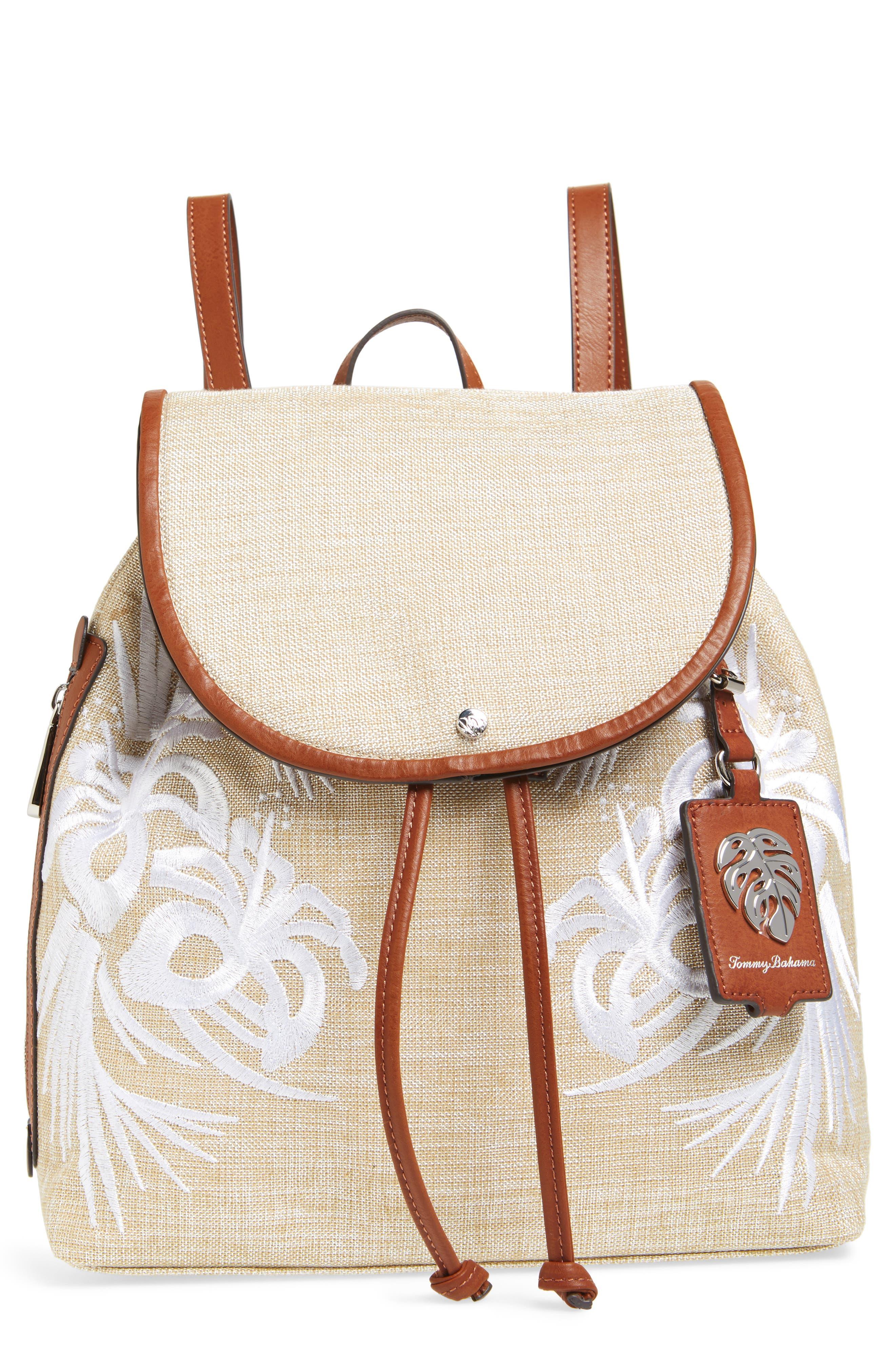 Tommy Bahama Waikiki Canvas Backpack