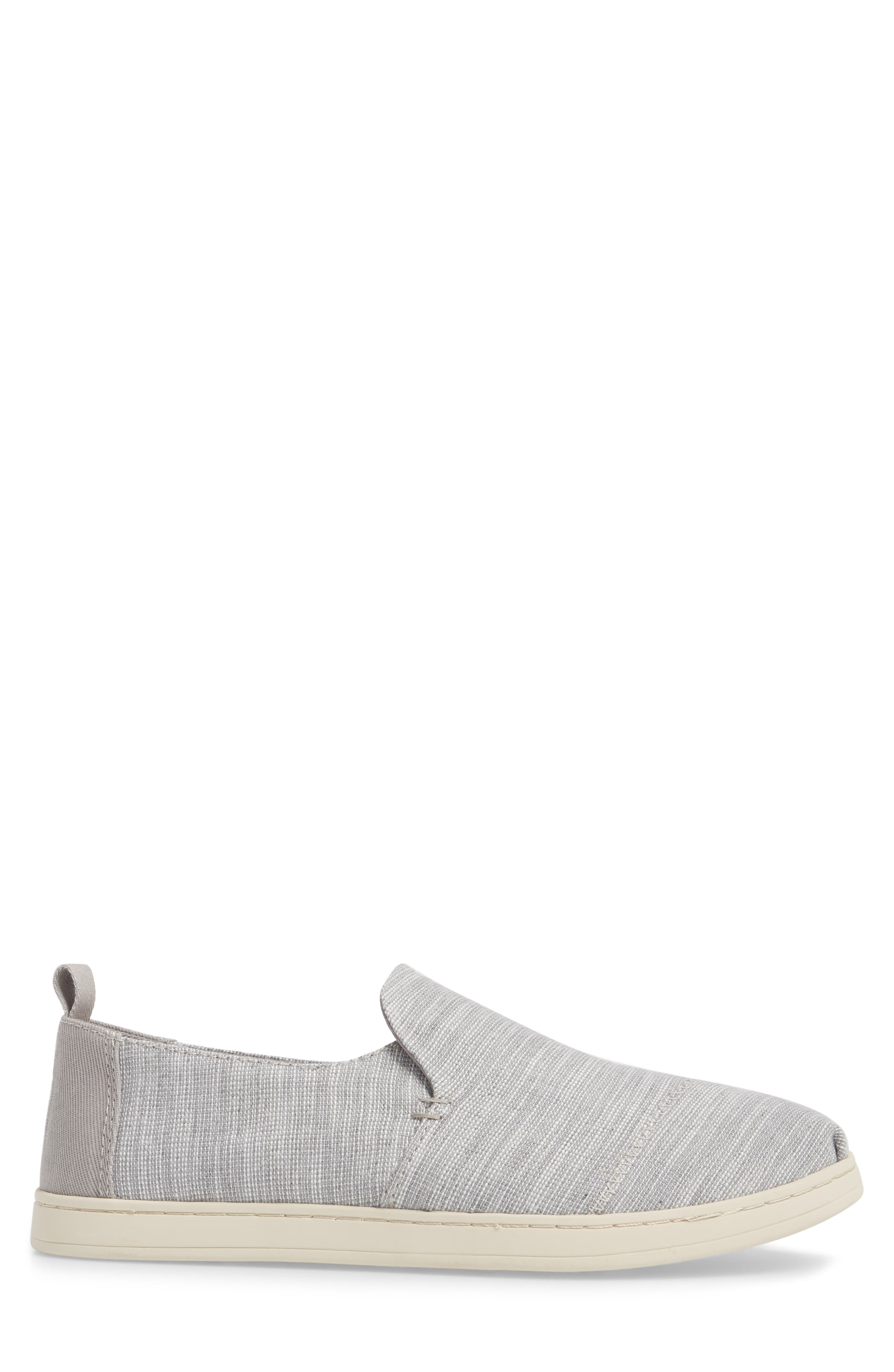 Deconstructed Alpargata Slip-On,                             Alternate thumbnail 3, color,                             Drizzle Striped Chambray
