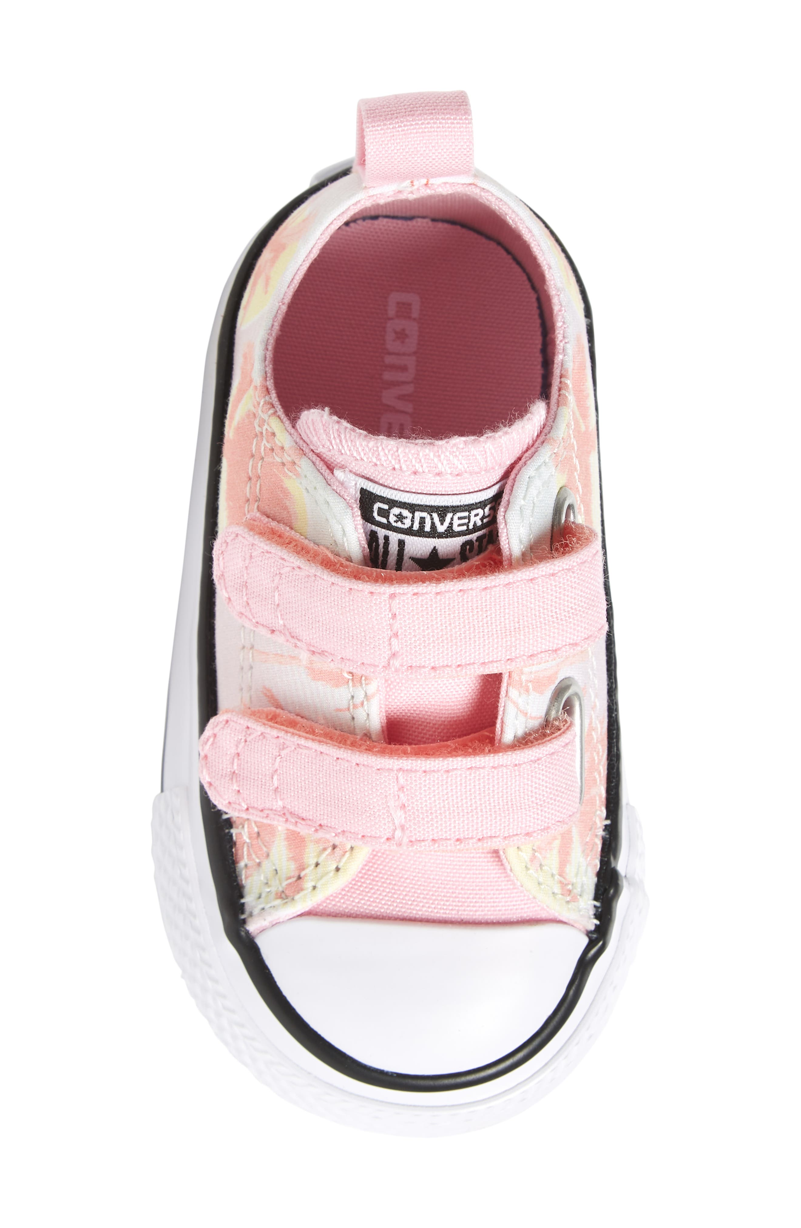 Chuck Taylor<sup>®</sup> All Star<sup>®</sup> Palm Tree Sneaker,                             Alternate thumbnail 5, color,                             Barely Green