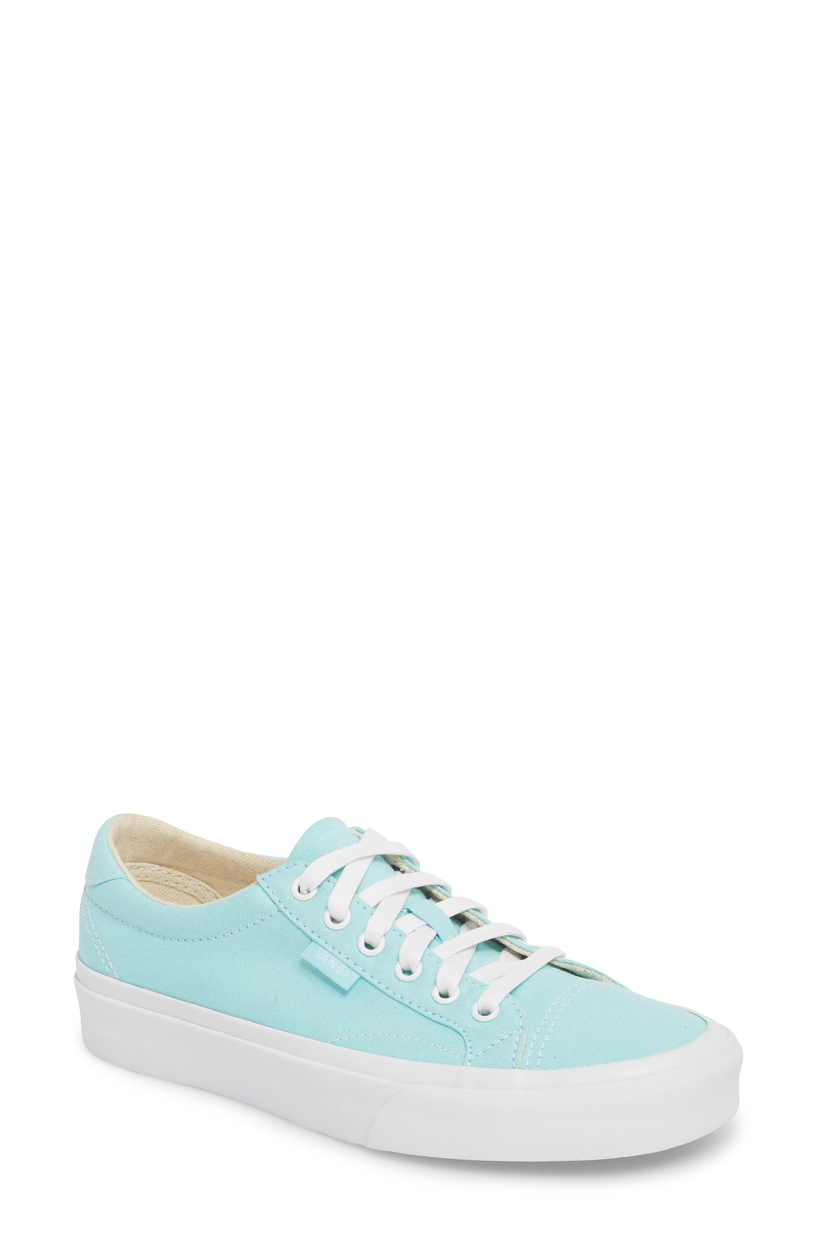 UA Court Low Top Sneaker,                             Main thumbnail 1, color,                             Island Paradise/ True White