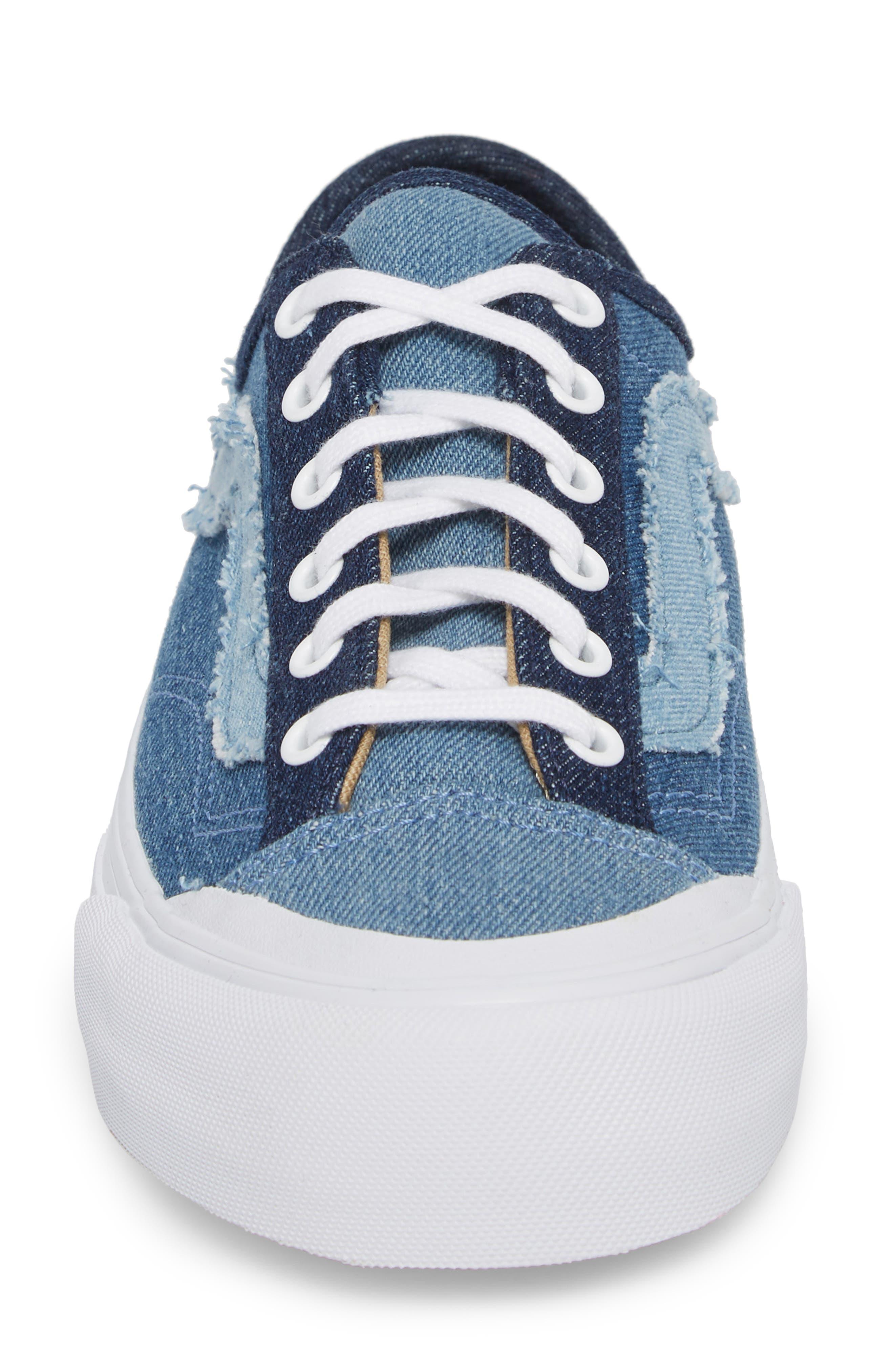 Style 36 Decon Sneaker,                             Alternate thumbnail 4, color,                             Frayed Denim