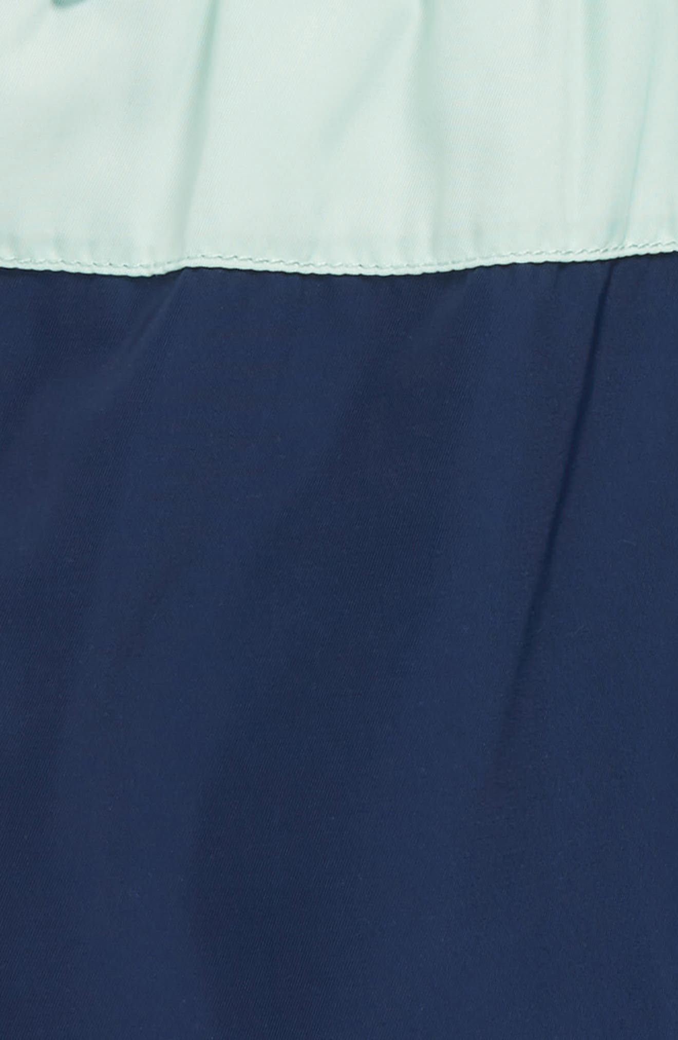 Colorblock Swim Trunks,                             Alternate thumbnail 2, color,                             Blue
