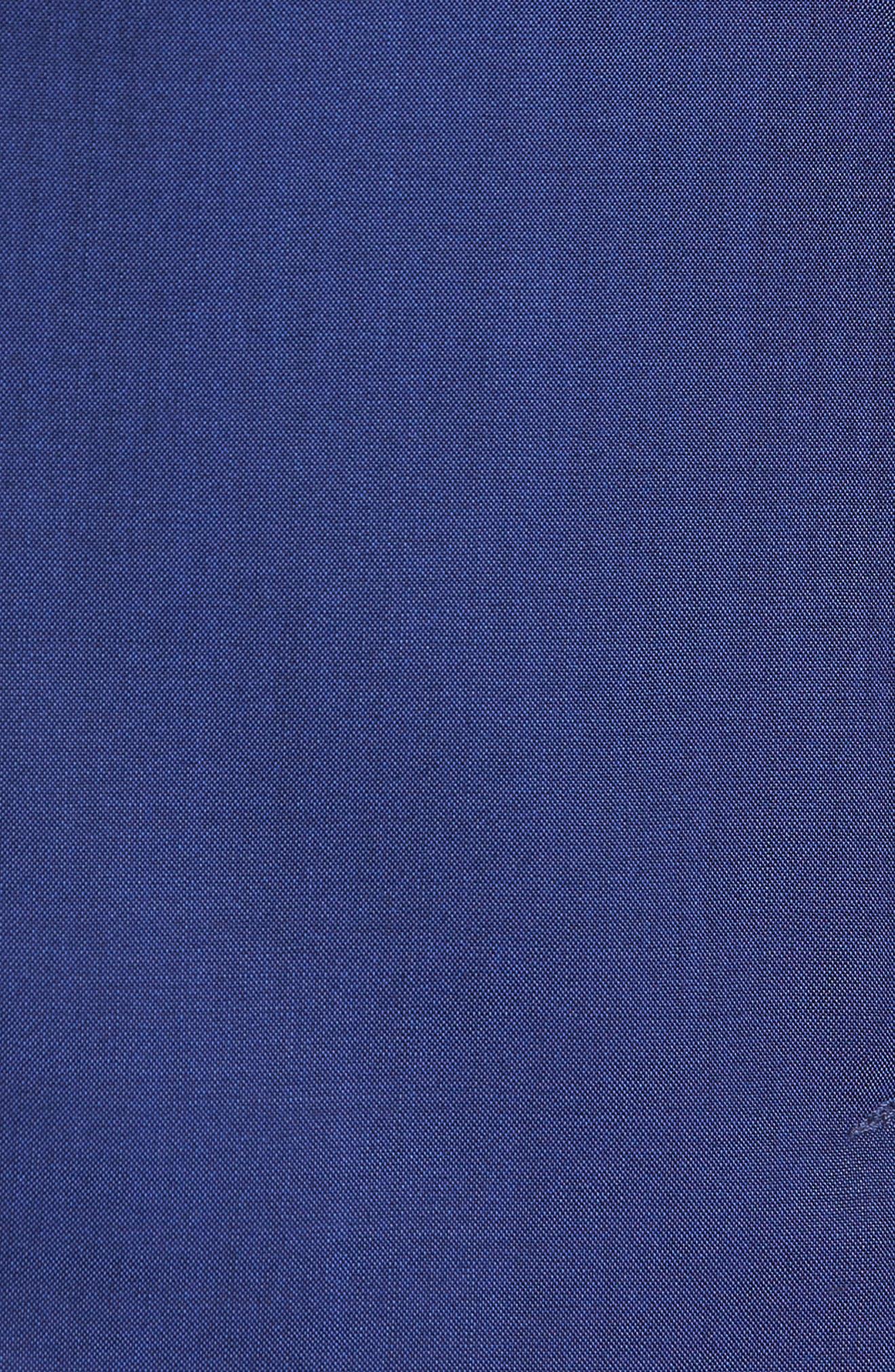 Shelby Trim Fit Wool Blazer,                             Alternate thumbnail 5, color,                             High Blue