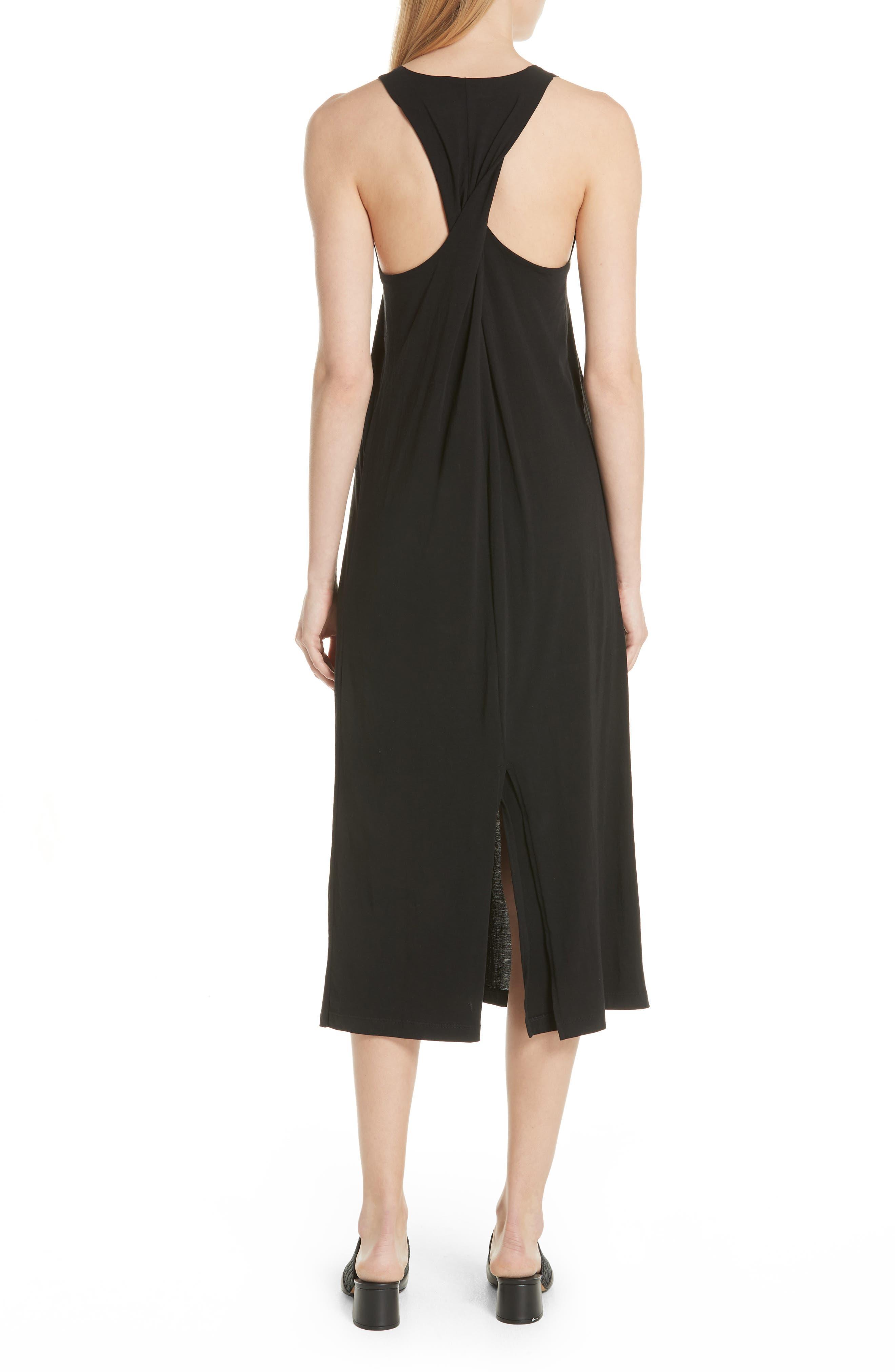 Alternate Image 2  - Vince Twist Back Pima Cotton Dress