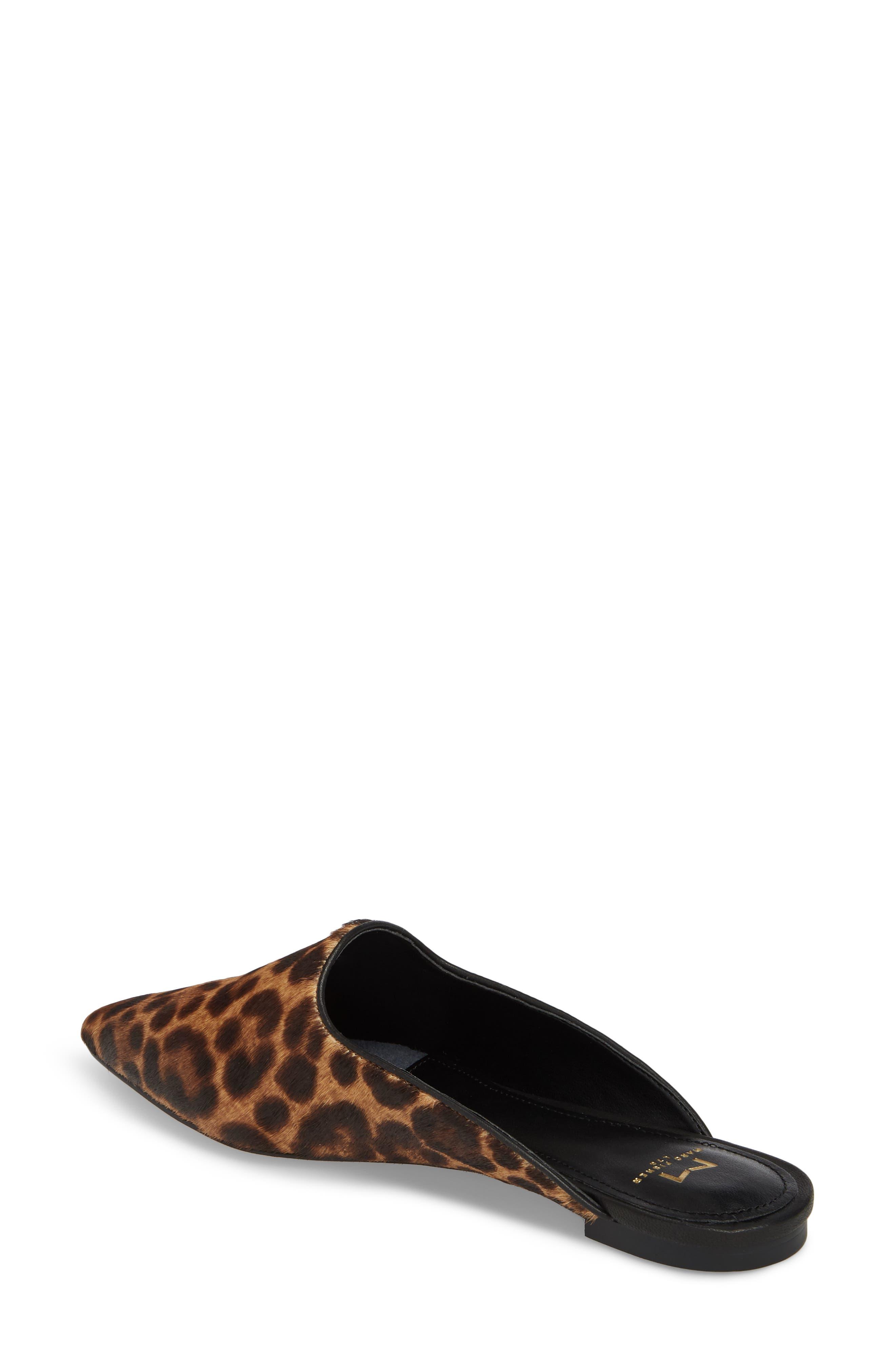 Sheenly Genuine Calf Hair Mule,                             Alternate thumbnail 2, color,                             Leopard Hair Calf