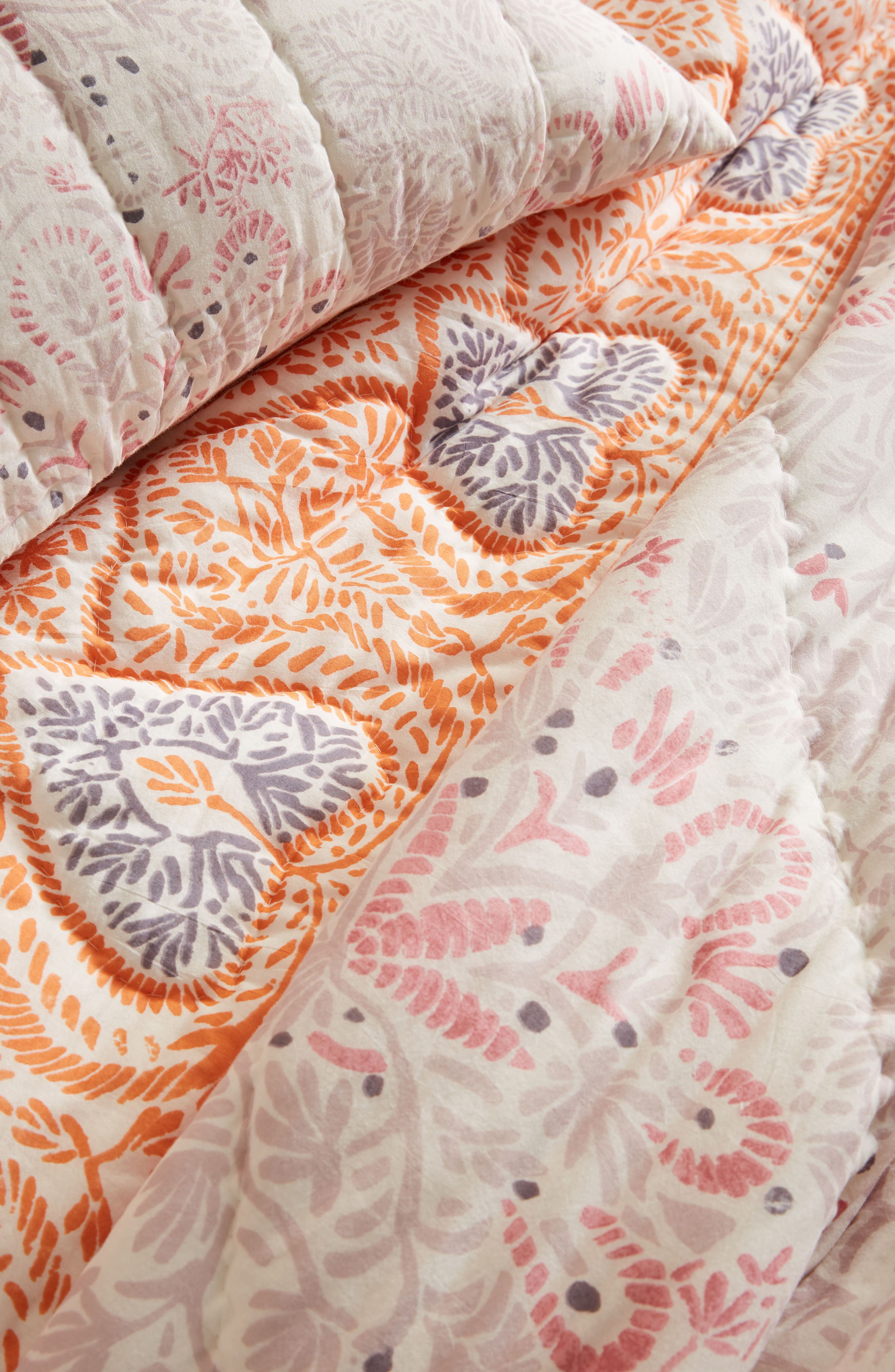 Josee Quilt,                             Alternate thumbnail 2, color,                             Coral