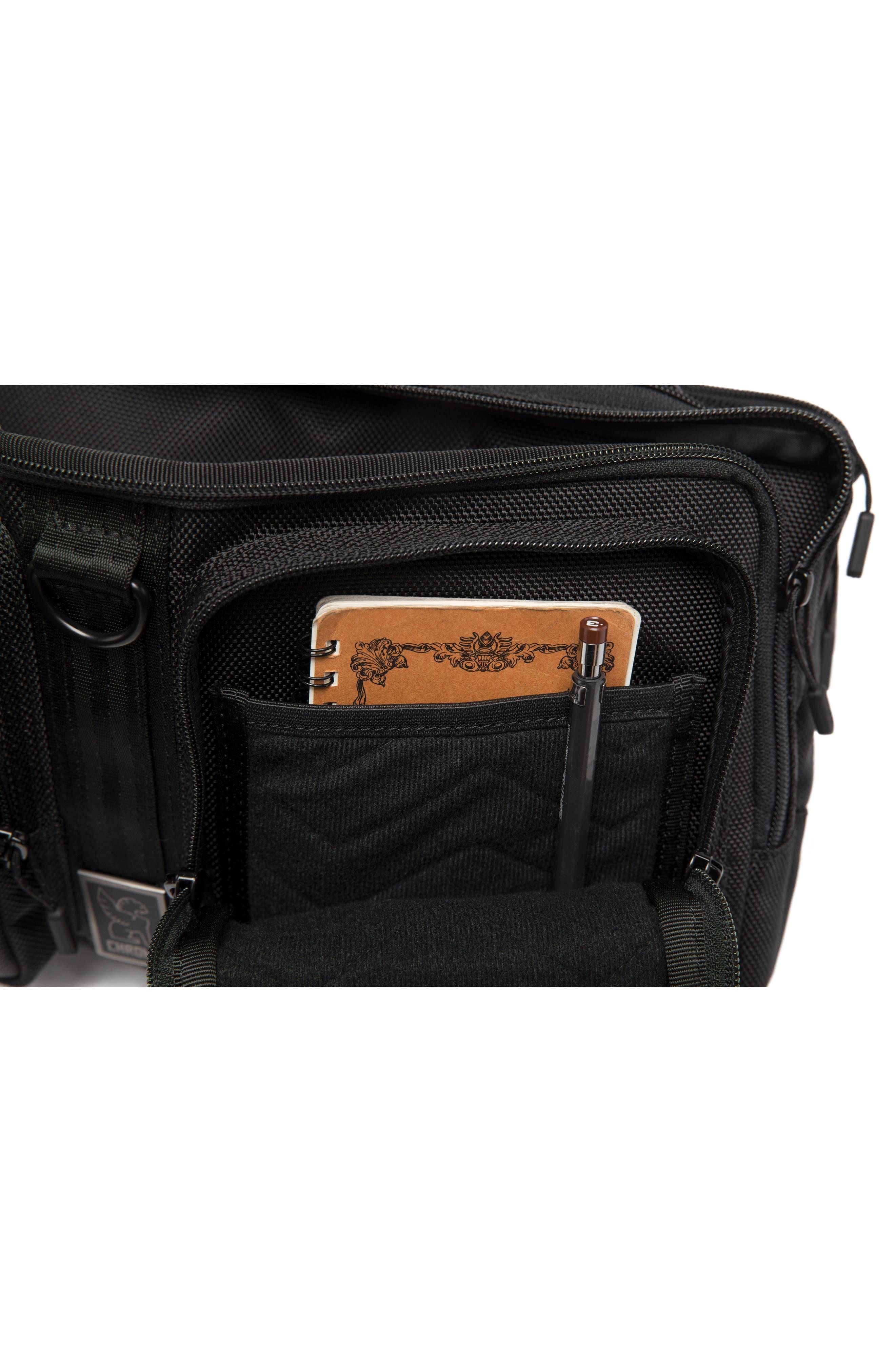 MXD Segment Sling Bag,                             Alternate thumbnail 4, color,                             All Black