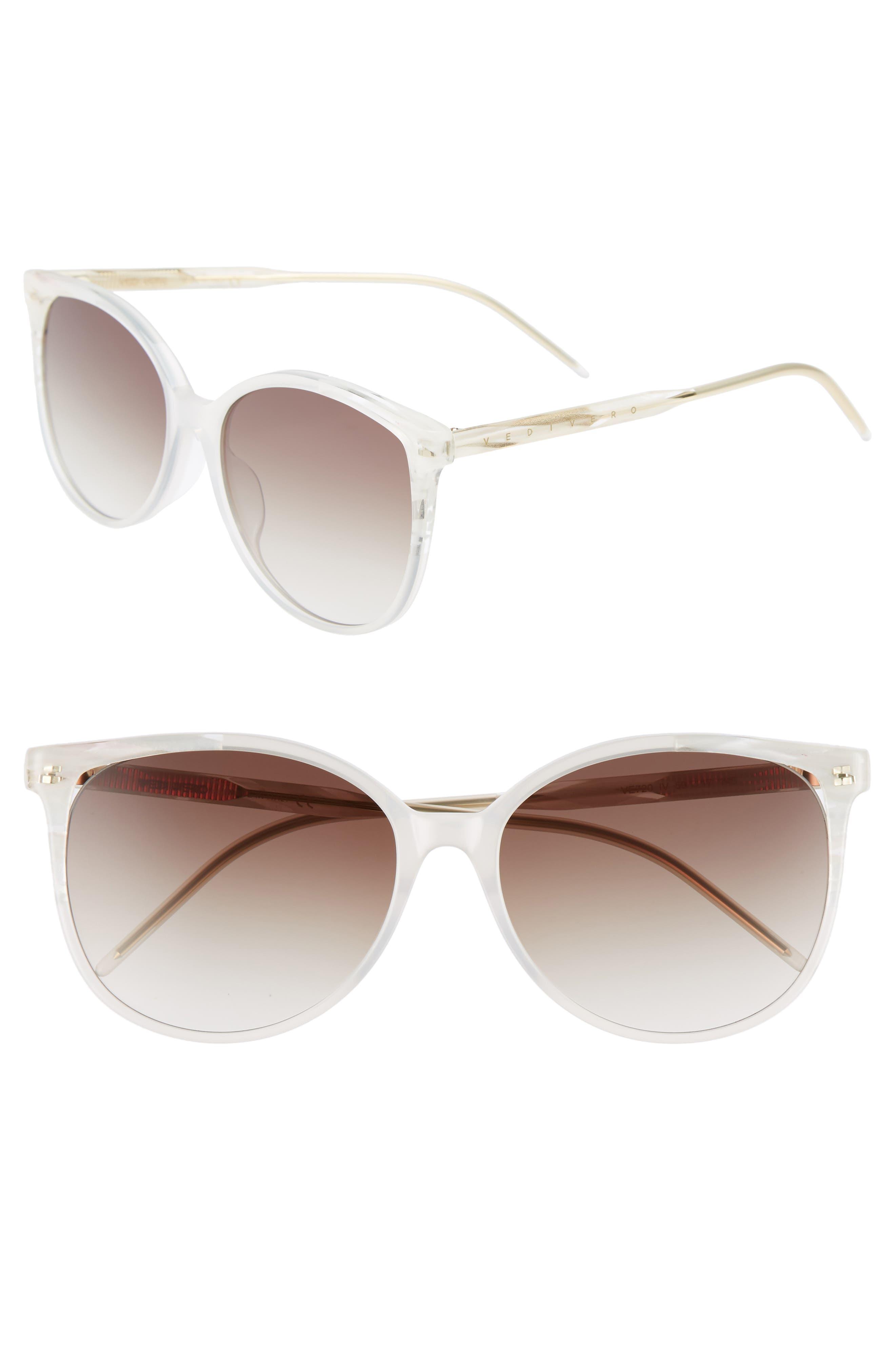 VEDI VERO 59mm Round Sunglasses