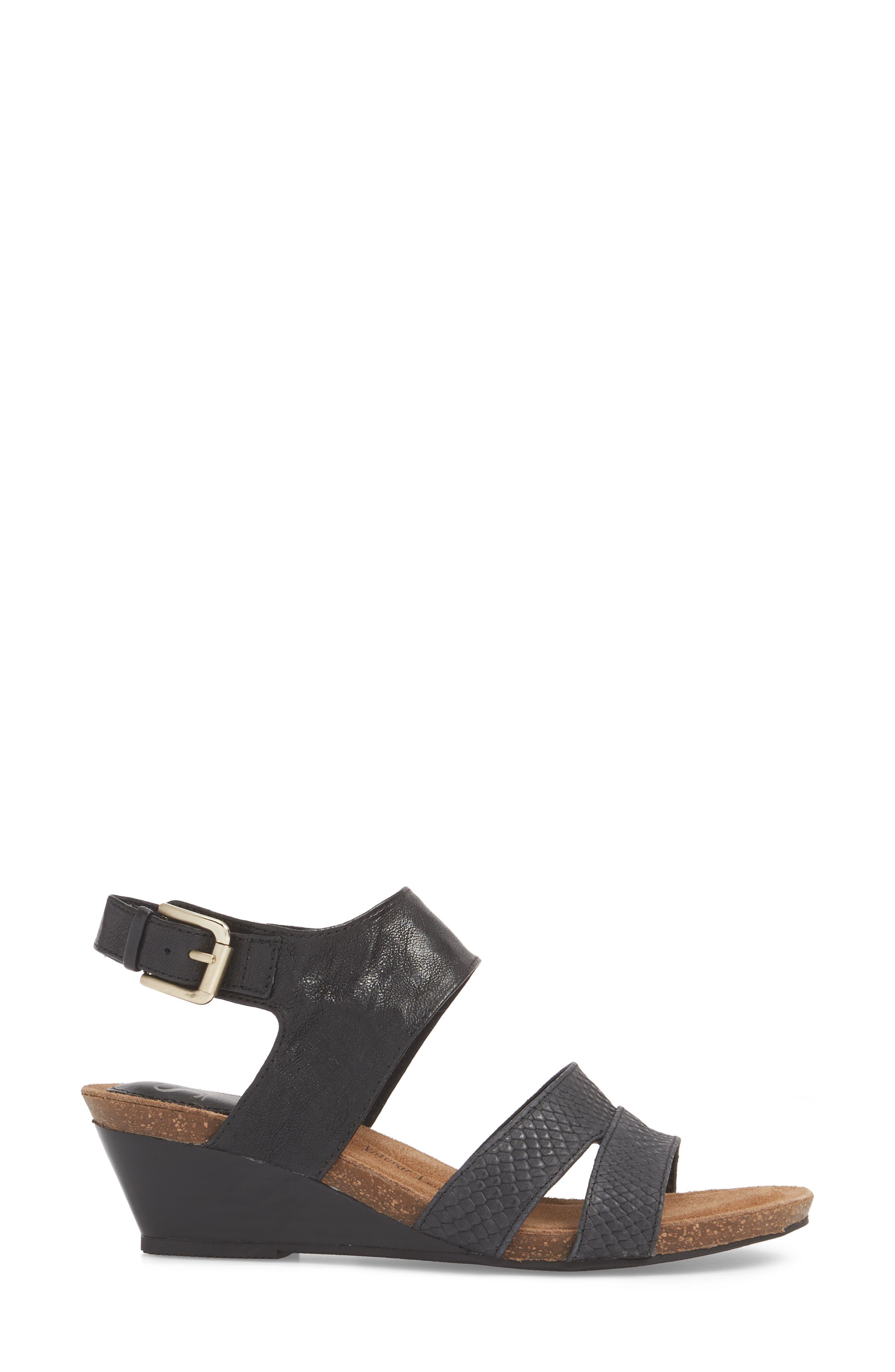 Alternate Image 3  - Söfft Velden Wedge Sandal (Women)