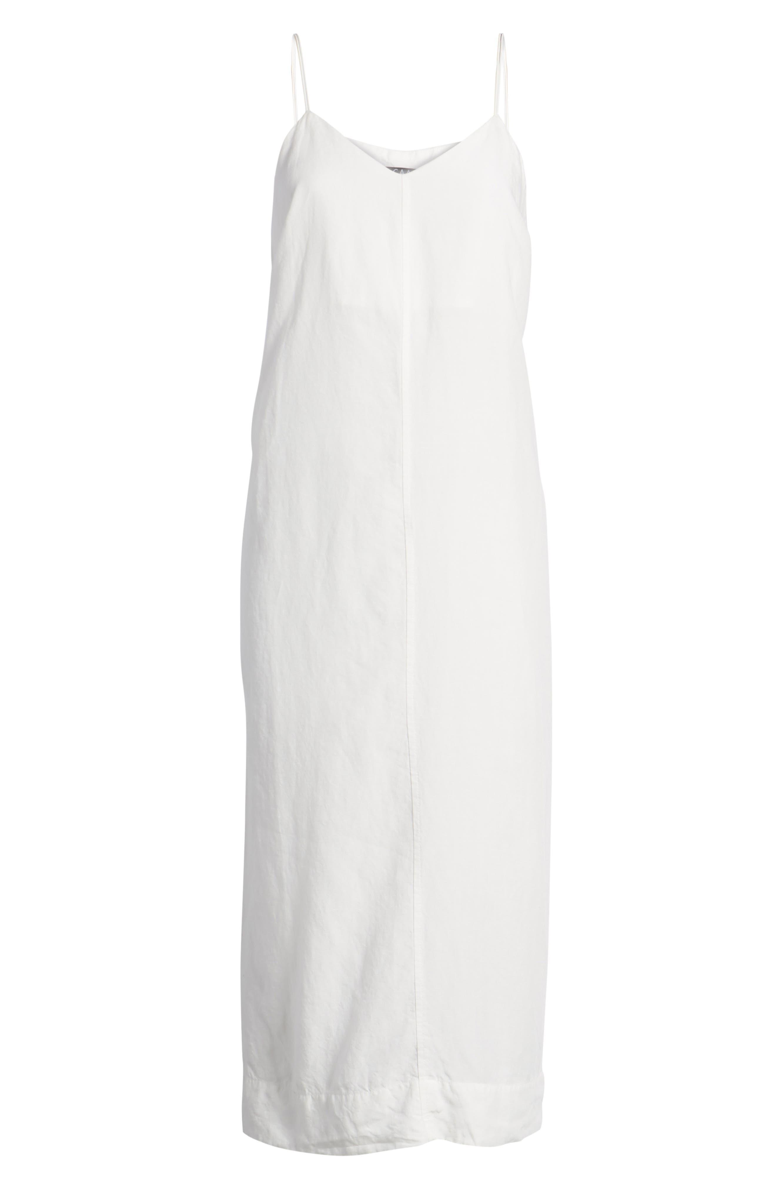 Bryant Midi Slipdress,                             Alternate thumbnail 7, color,                             White