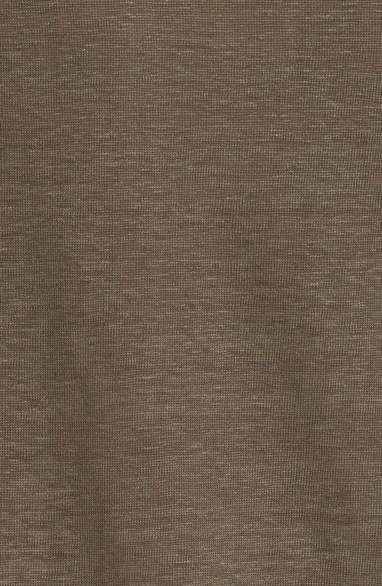Alternate Image 5  - Vince Linen Short Sleeve Top