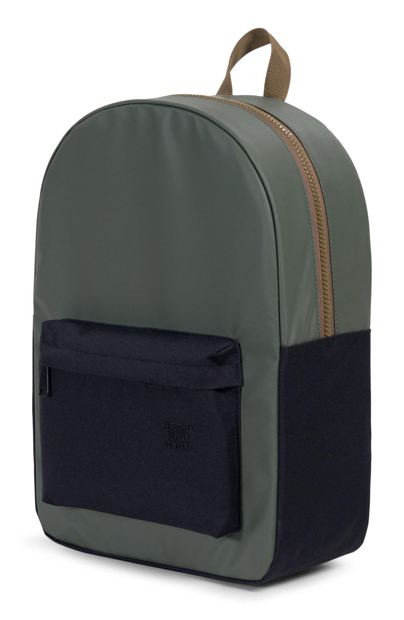 Winlaw Studio Backpack,                             Alternate thumbnail 4, color,                             Beetle Black/ Goth Olive