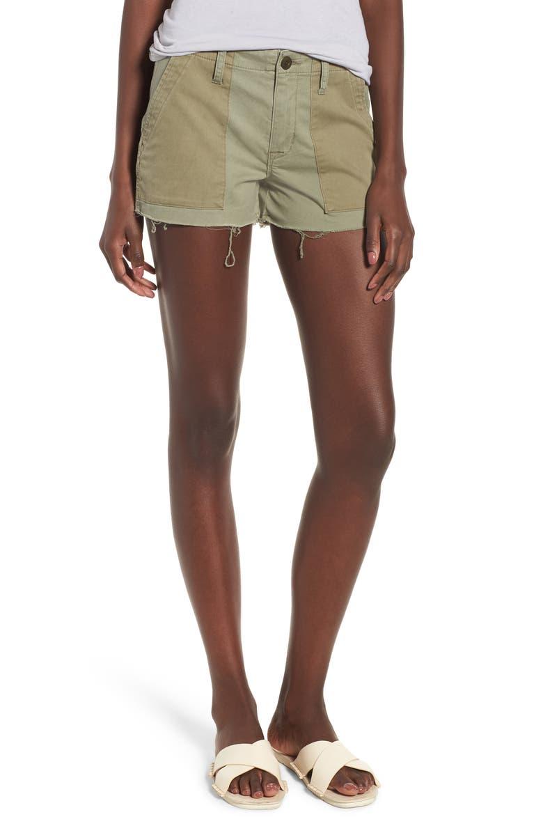 Jaclyn Cutoff Flight Shorts