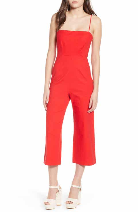ASTR the Label Crop Jumpsuit
