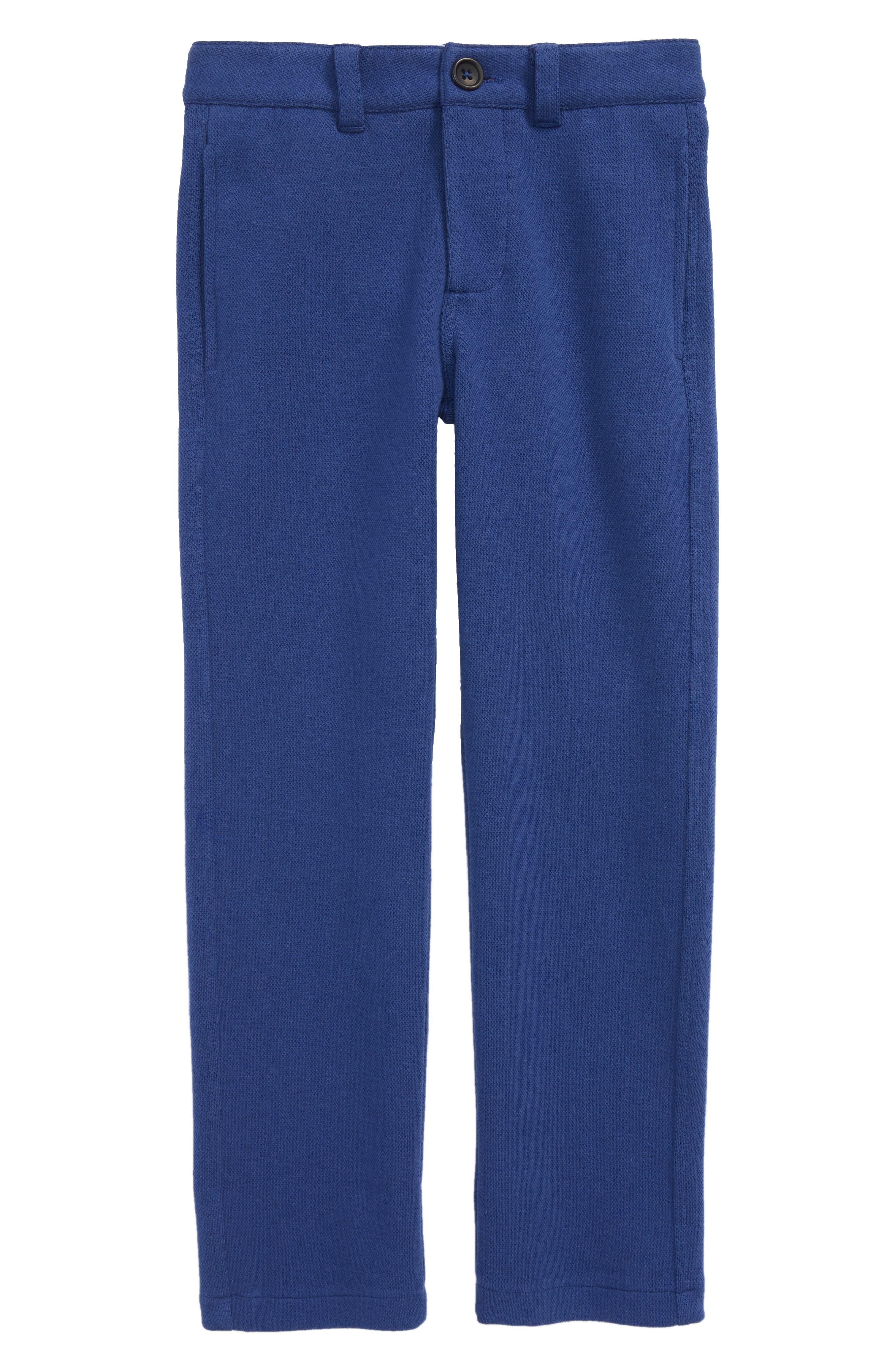 Jersey Chino Pants,                         Main,                         color, Beacon Blue