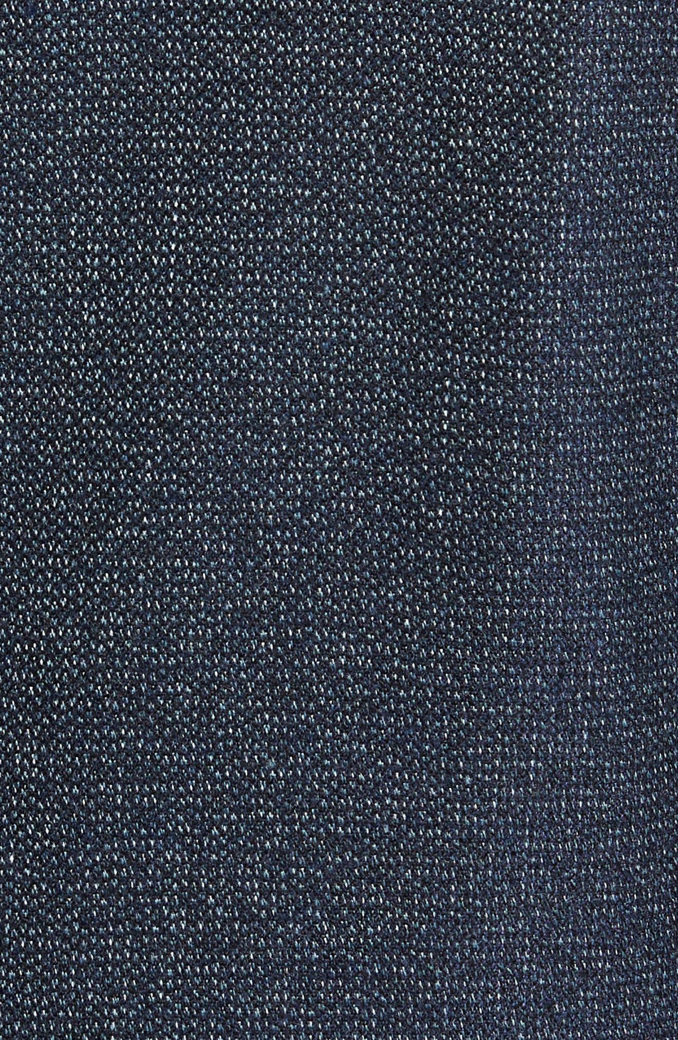Burkett Trim Fit Blazer,                             Alternate thumbnail 6, color,                             Blue