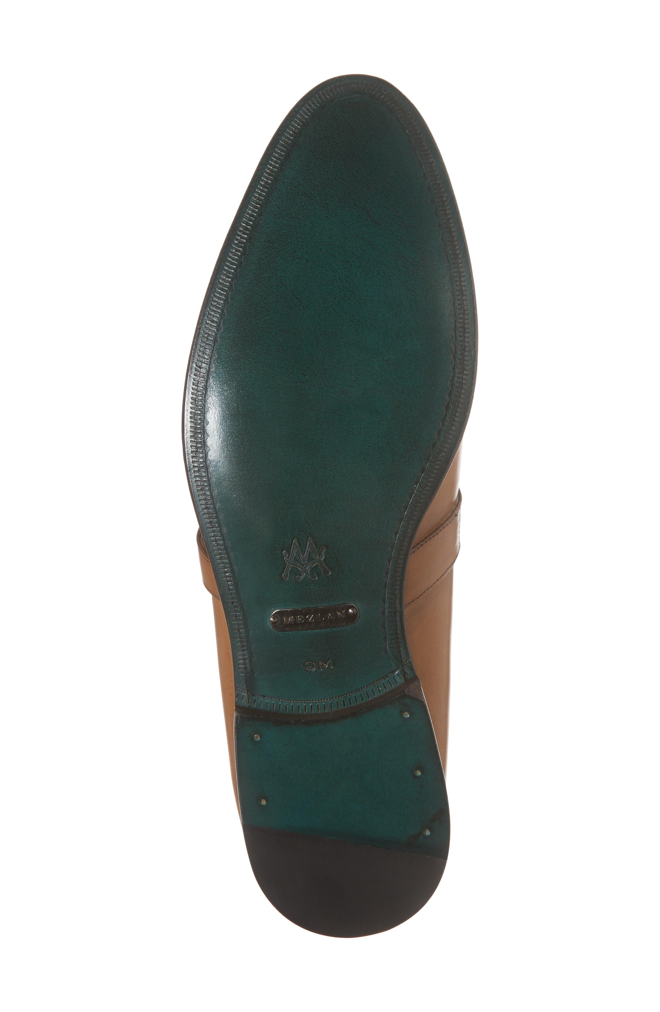 Octavio Kiltie Loafer,                             Alternate thumbnail 6, color,                             Tan Leather
