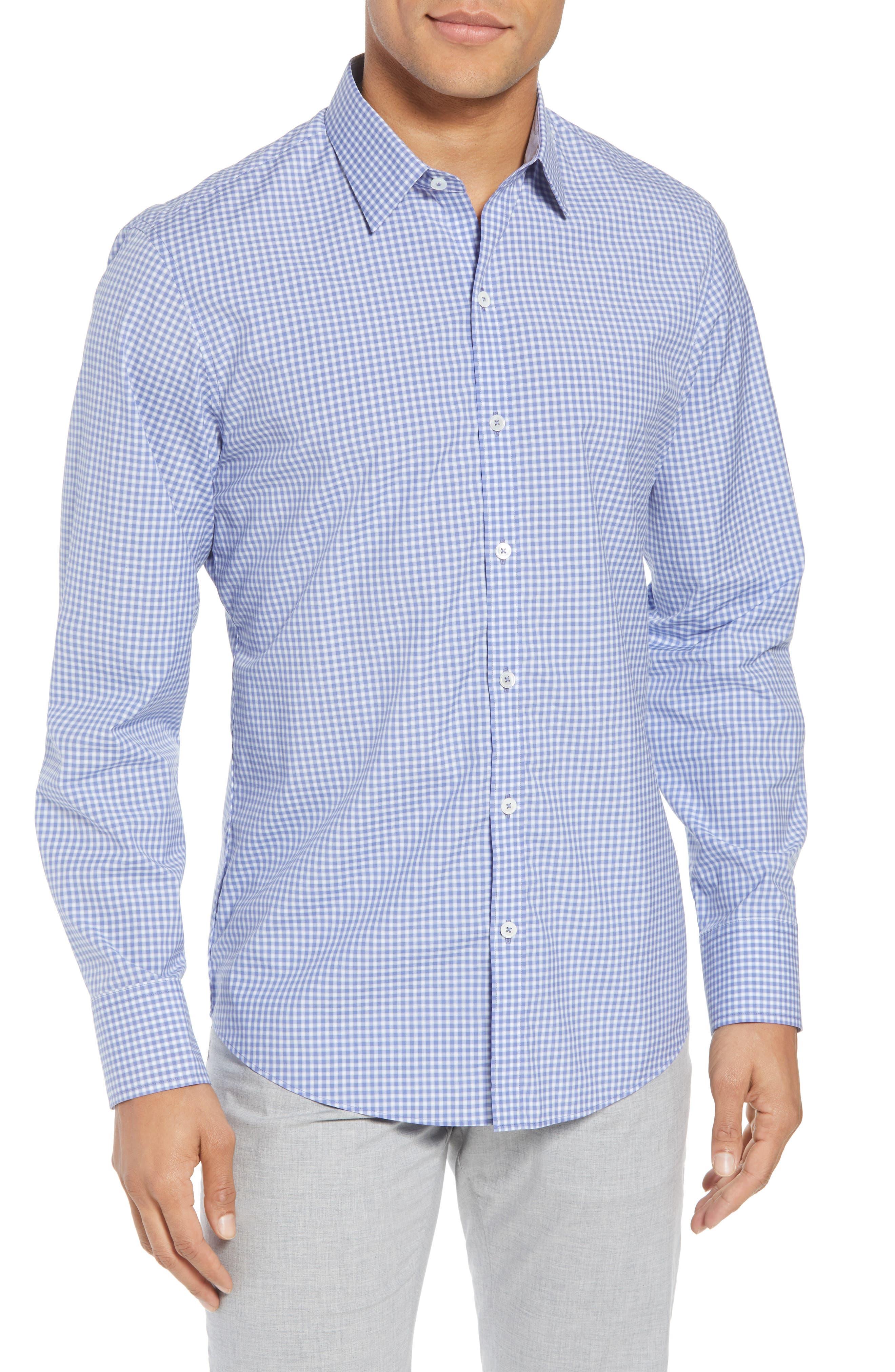 Winston Regular Fit Sport Shirt,                         Main,                         color, Ocean