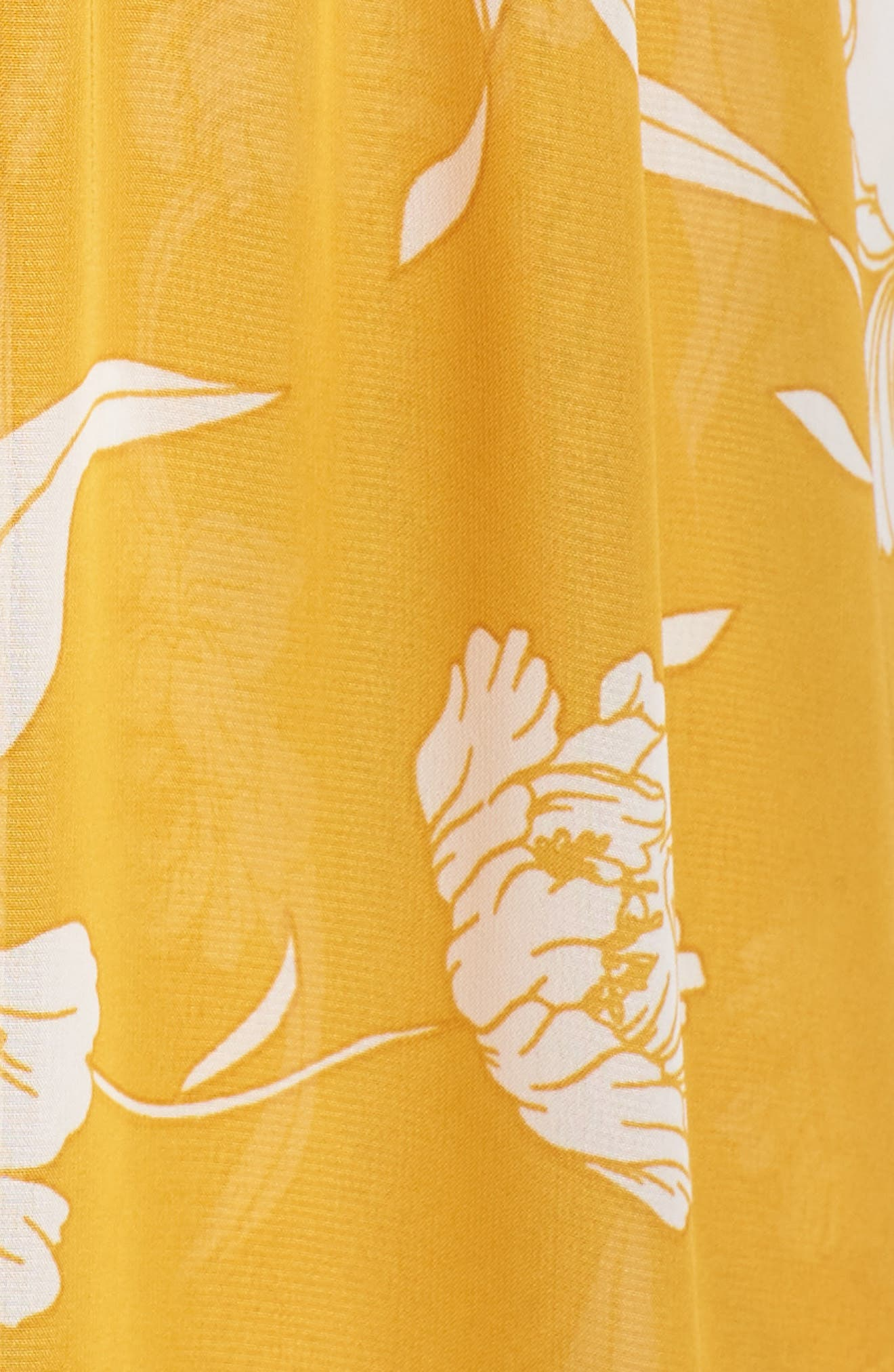 Hacienda Convertible Gown,                             Alternate thumbnail 5, color,                             Bloom Gold