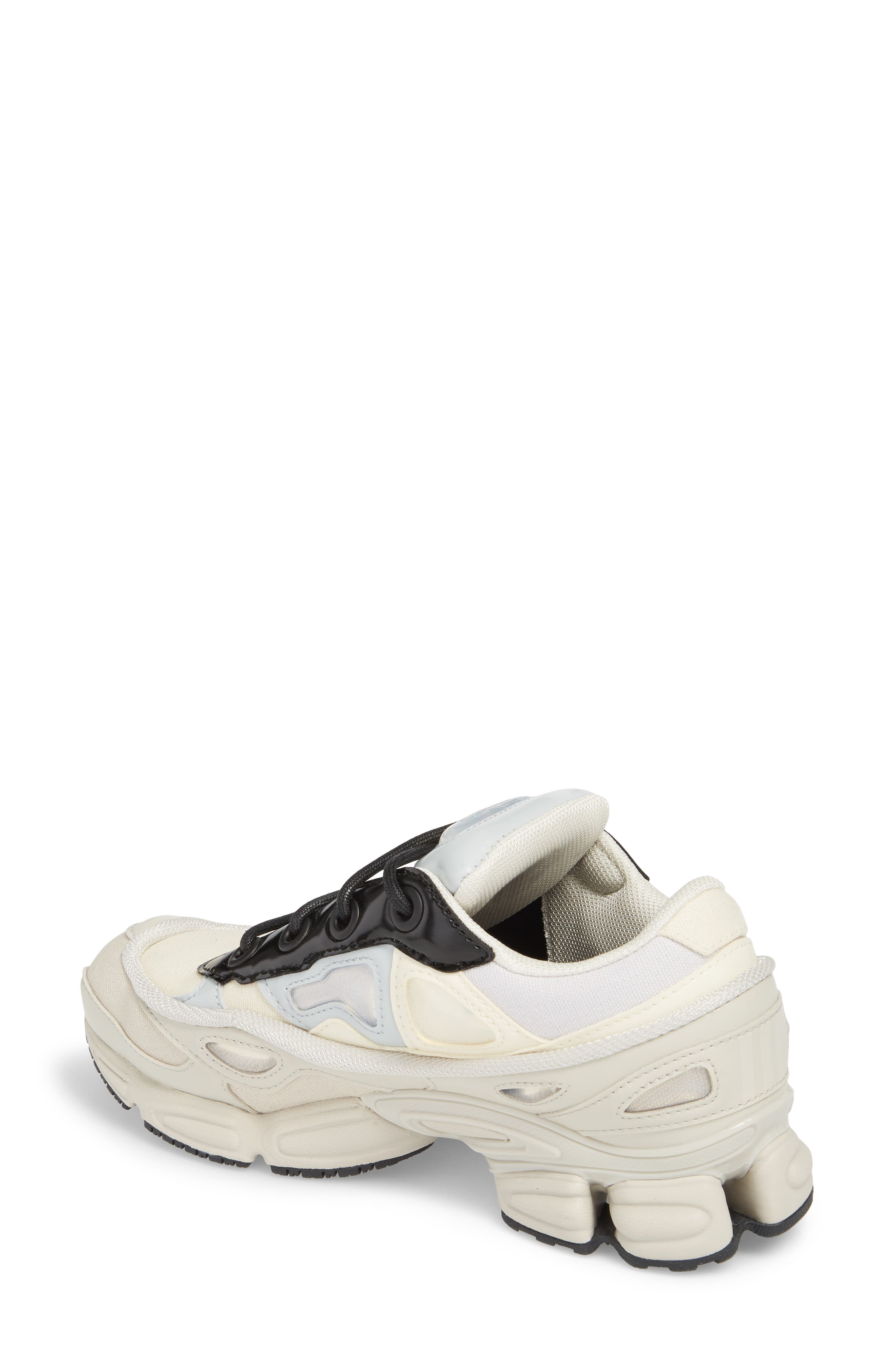 adidas by Raf Simons Ozweego III Sneaker,                             Alternate thumbnail 2, color,                             Cream White/ Mist Stone/ Black