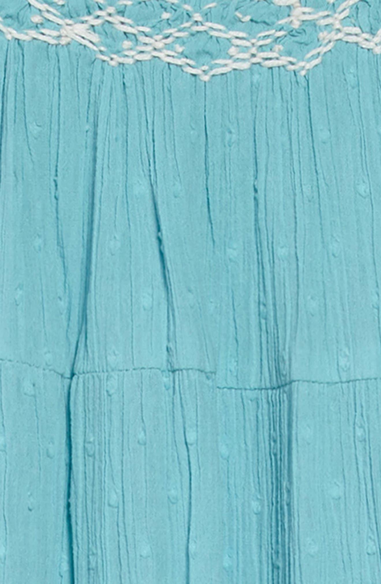 Twirly Dress,                             Alternate thumbnail 3, color,                             Camper Blue Blu