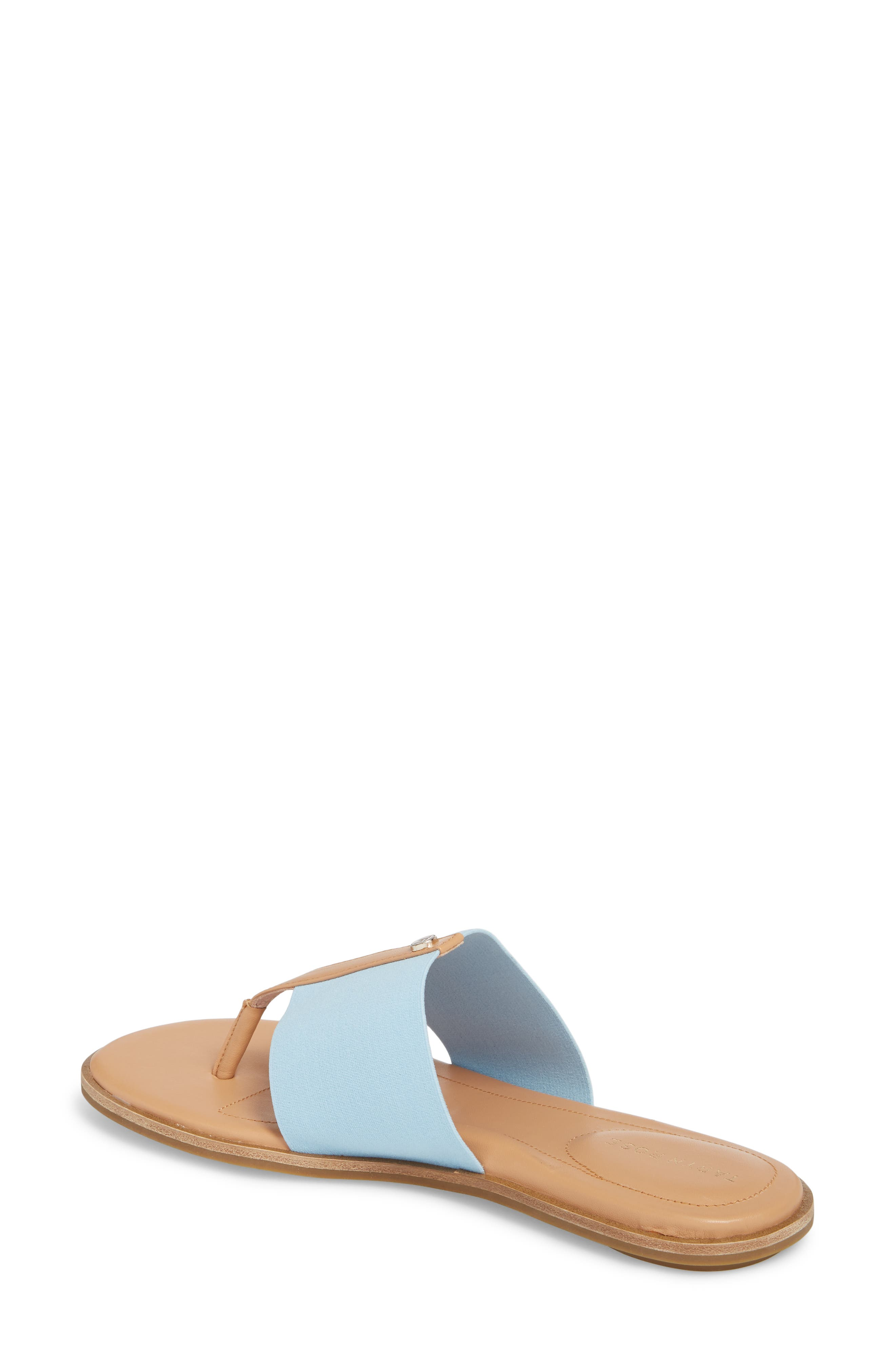 Kamryn Flip Flop,                             Alternate thumbnail 2, color,                             Sky Leather