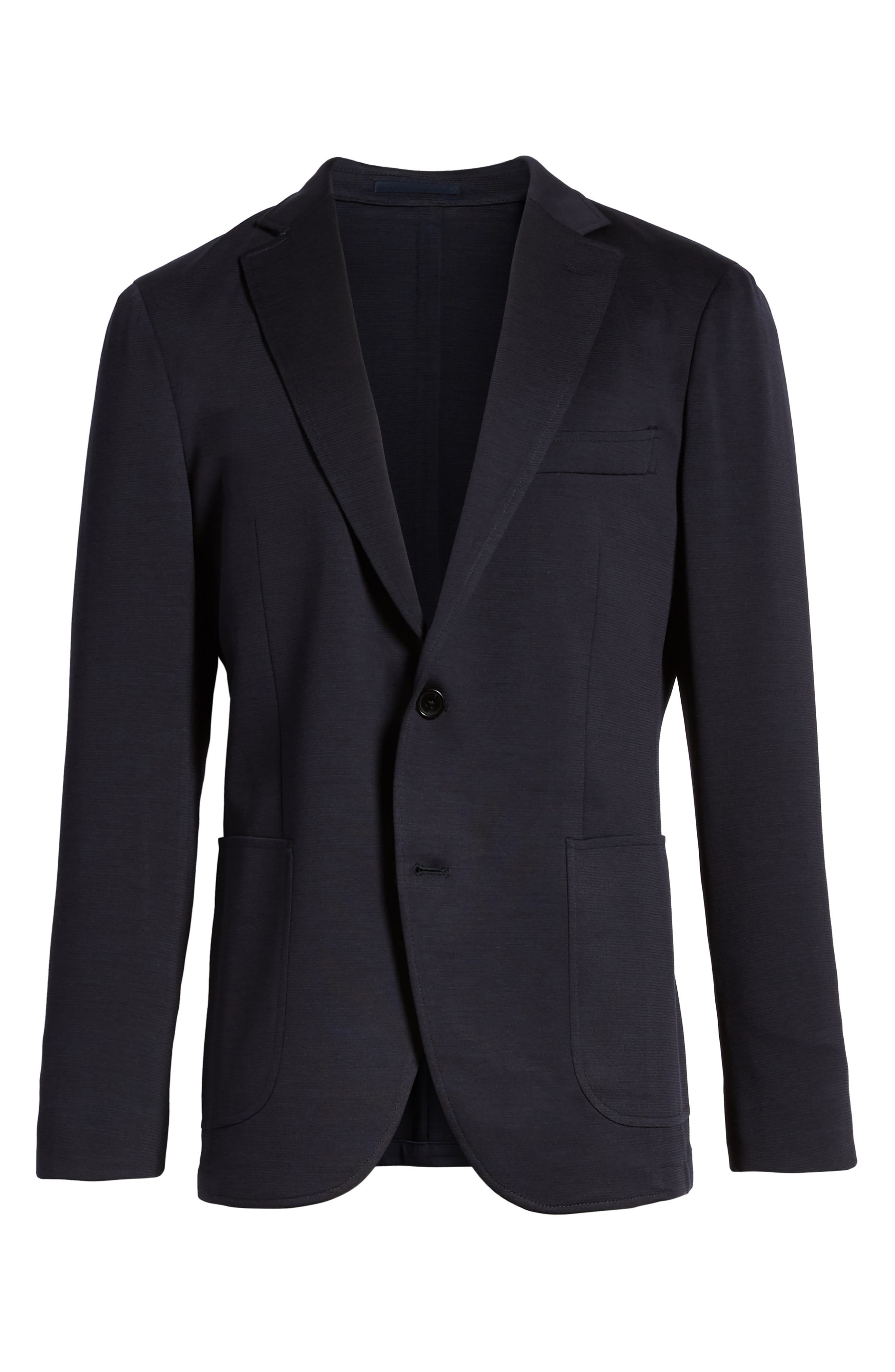 Cardrona Slim Fit Wool Blend Blazer,                             Alternate thumbnail 6, color,                             Navy
