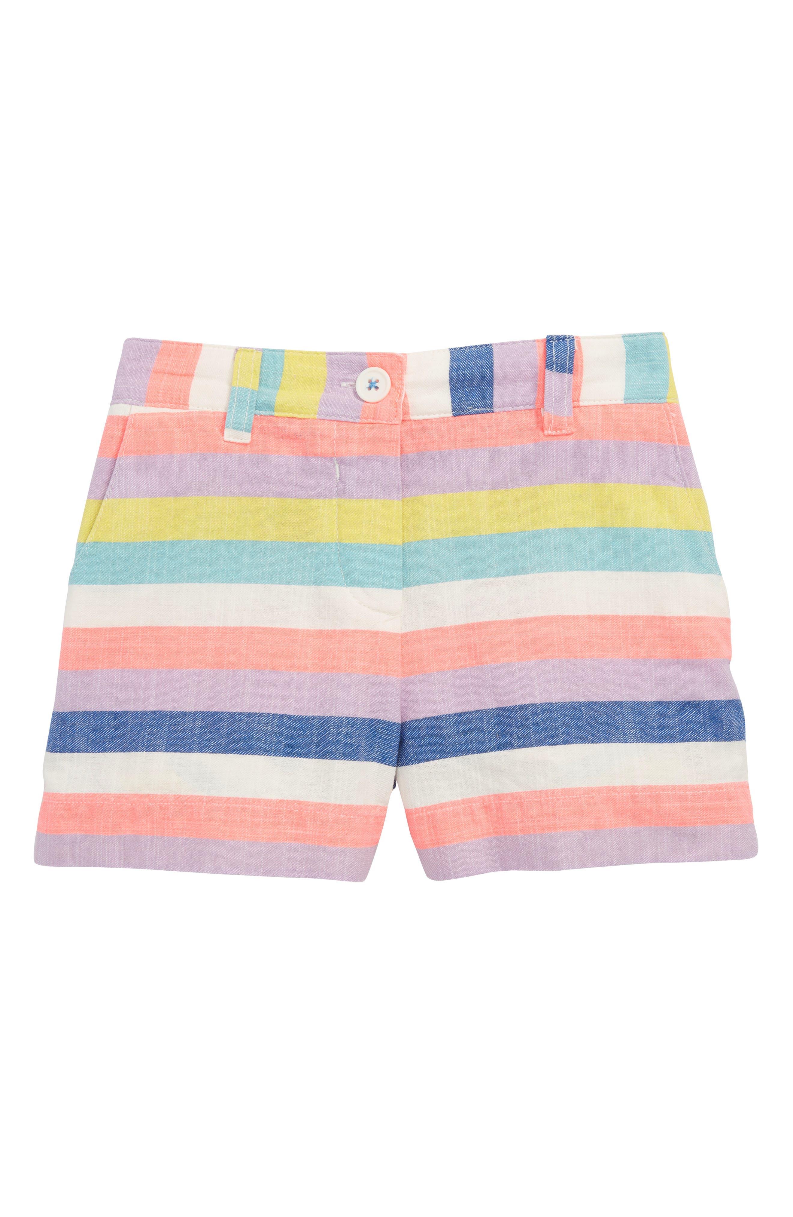 Bright Adventure Shorts,                             Main thumbnail 1, color,                             Candy Stripe Mul
