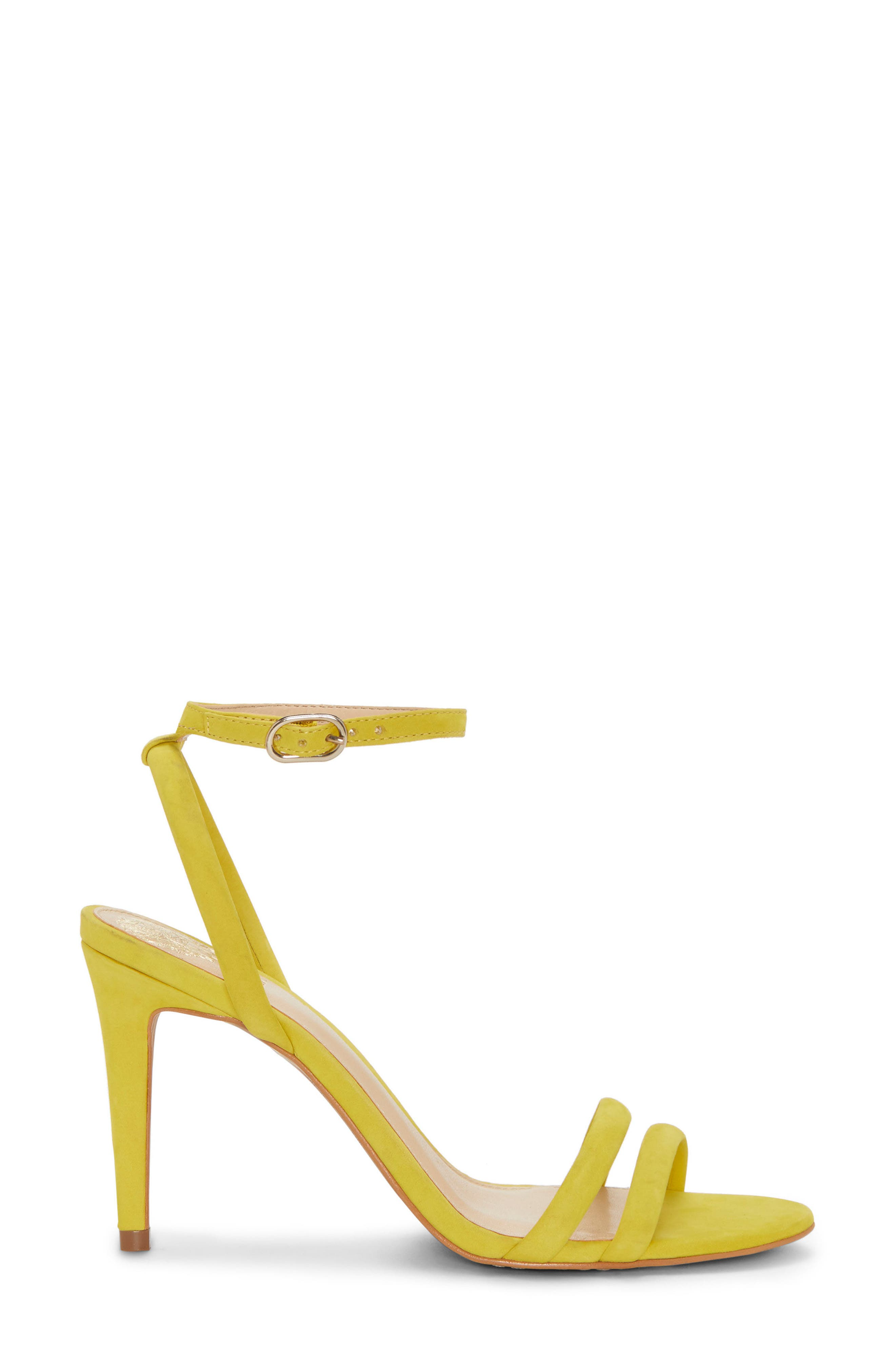Kareenat Sandal,                             Alternate thumbnail 3, color,                             Yellow Nubuck Leather