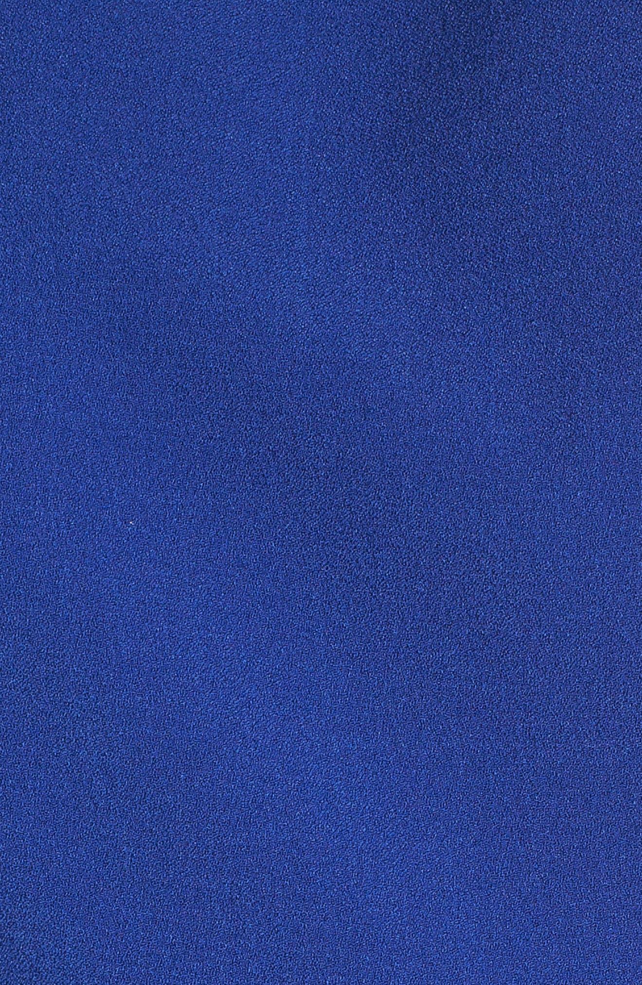Bow Back Jumpsuit,                             Alternate thumbnail 6, color,                             Blue Mazarine