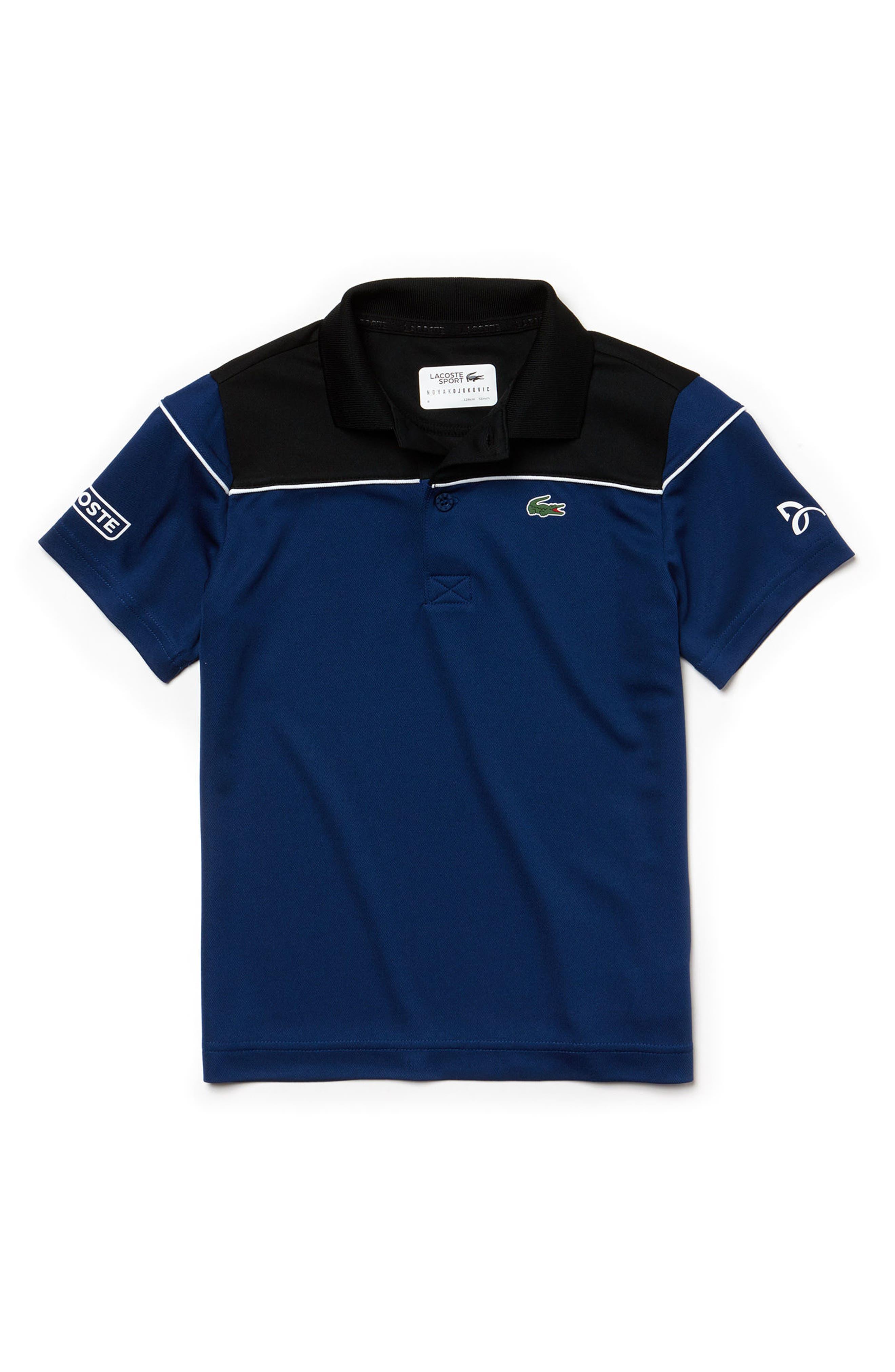 Miami Open Sport Polo,                         Main,                         color, Black/ Marino