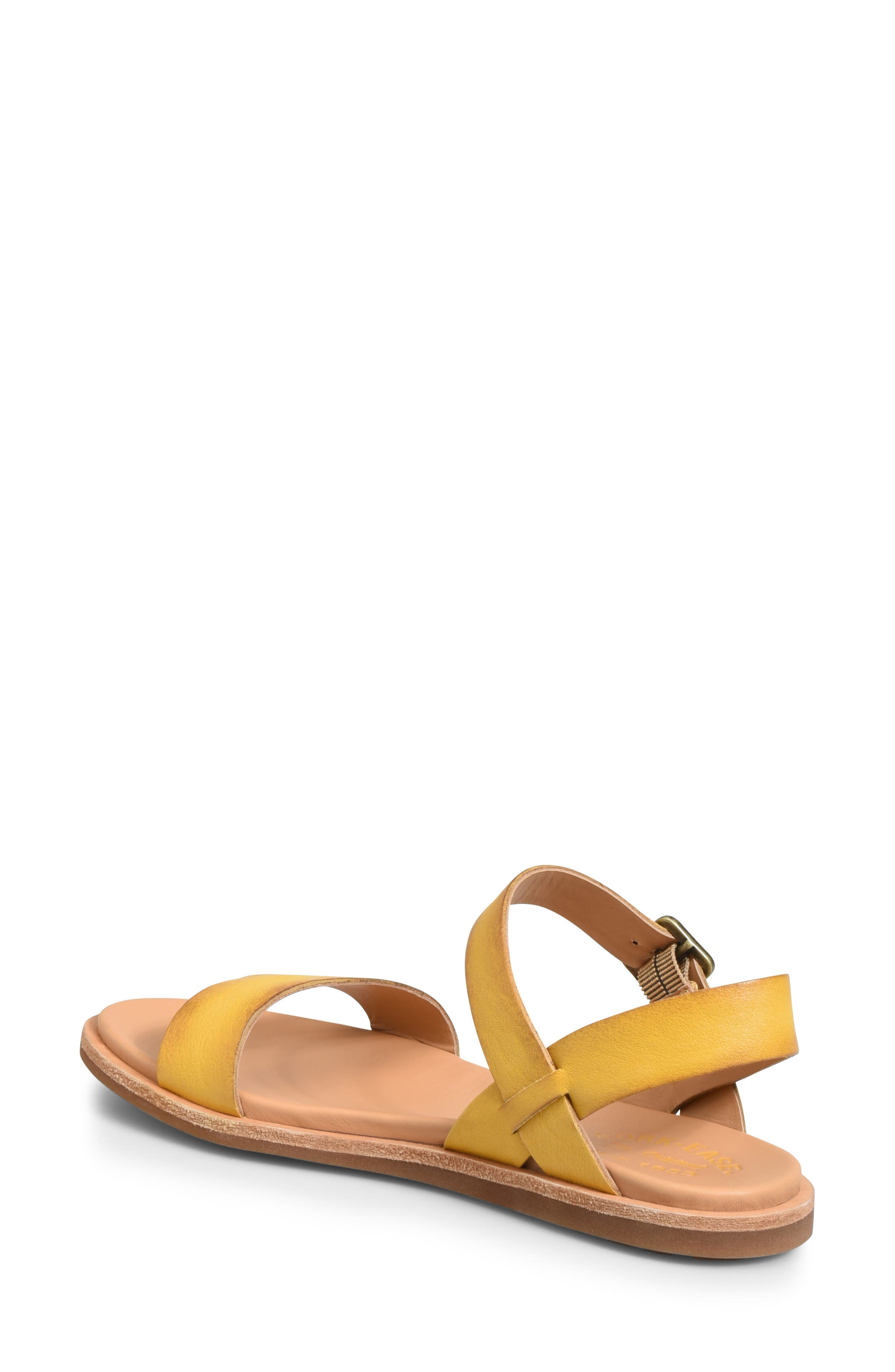 Yucca Sandal,                             Alternate thumbnail 2, color,                             Yellow Leather