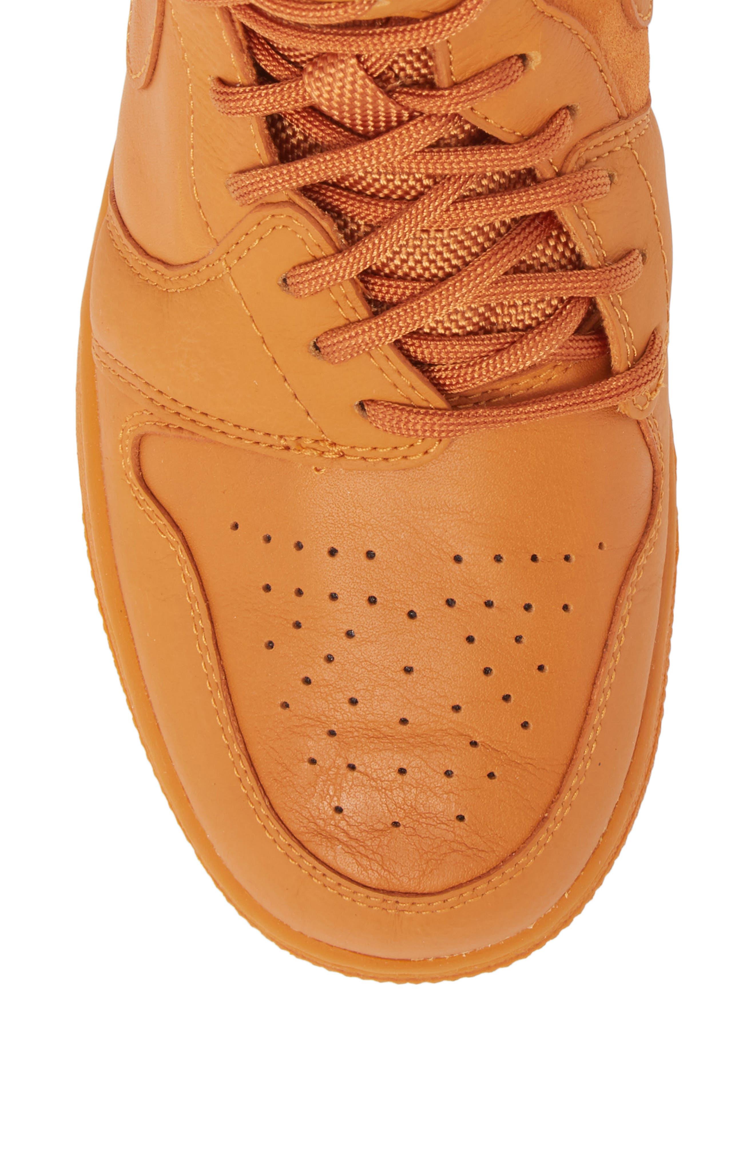 Air Jordan 1 Rebel XX High Top Sneaker,                             Alternate thumbnail 5, color,                             Cinder Orange