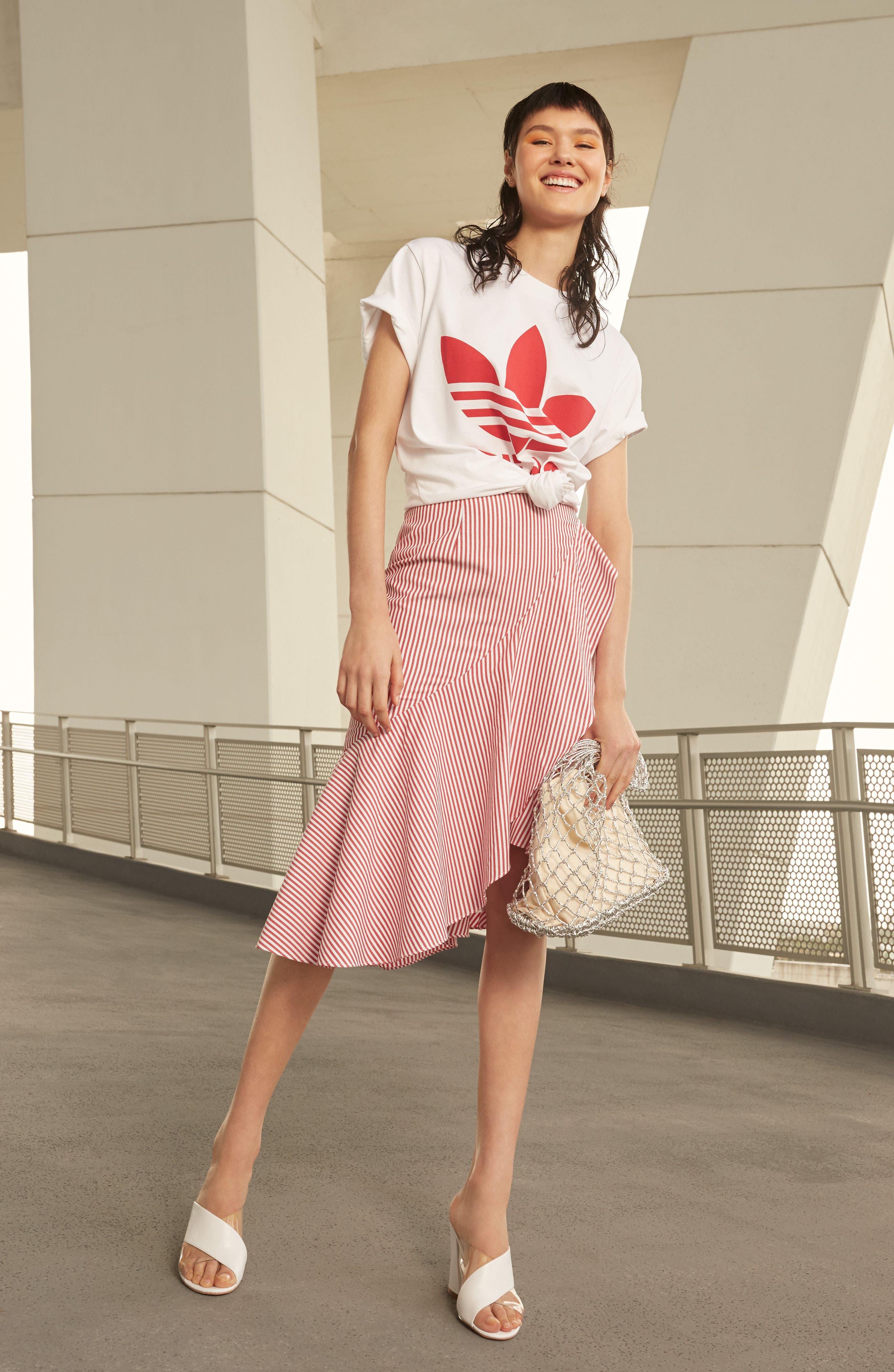 Naples Ruffle Skirt,                             Alternate thumbnail 6, color,