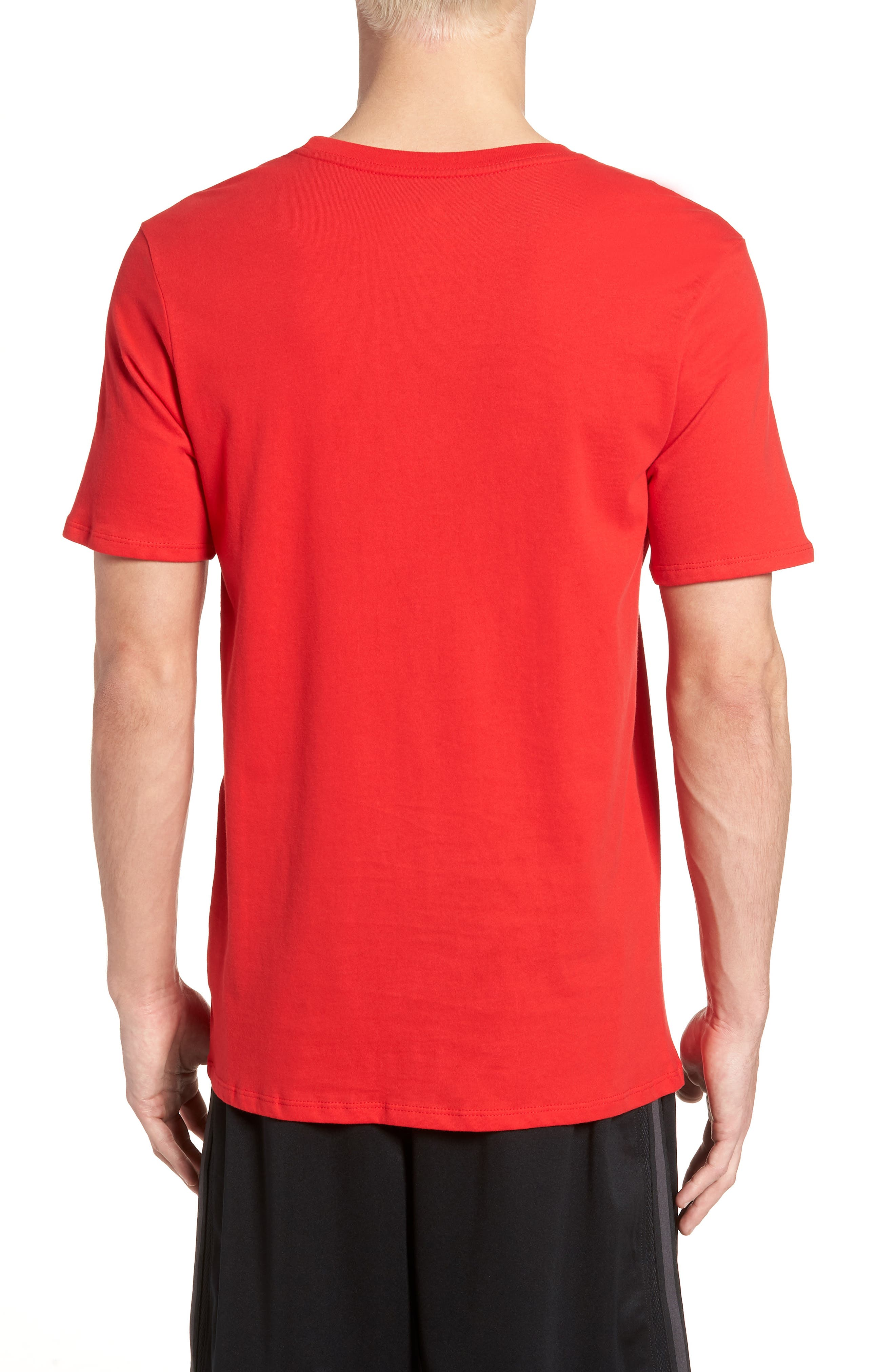 'Tee-Futura Icon' Graphic T-Shirt,                             Alternate thumbnail 2, color,                             Red/ Black