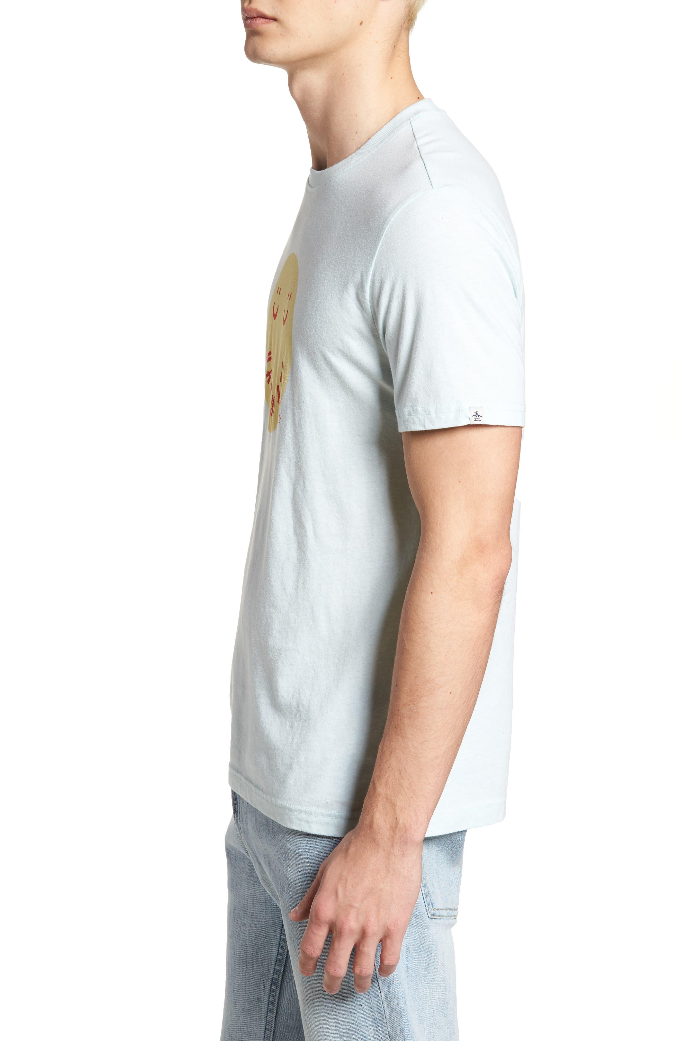 Happy Daze T-Shirt,                             Alternate thumbnail 3, color,                             Pastel Blue