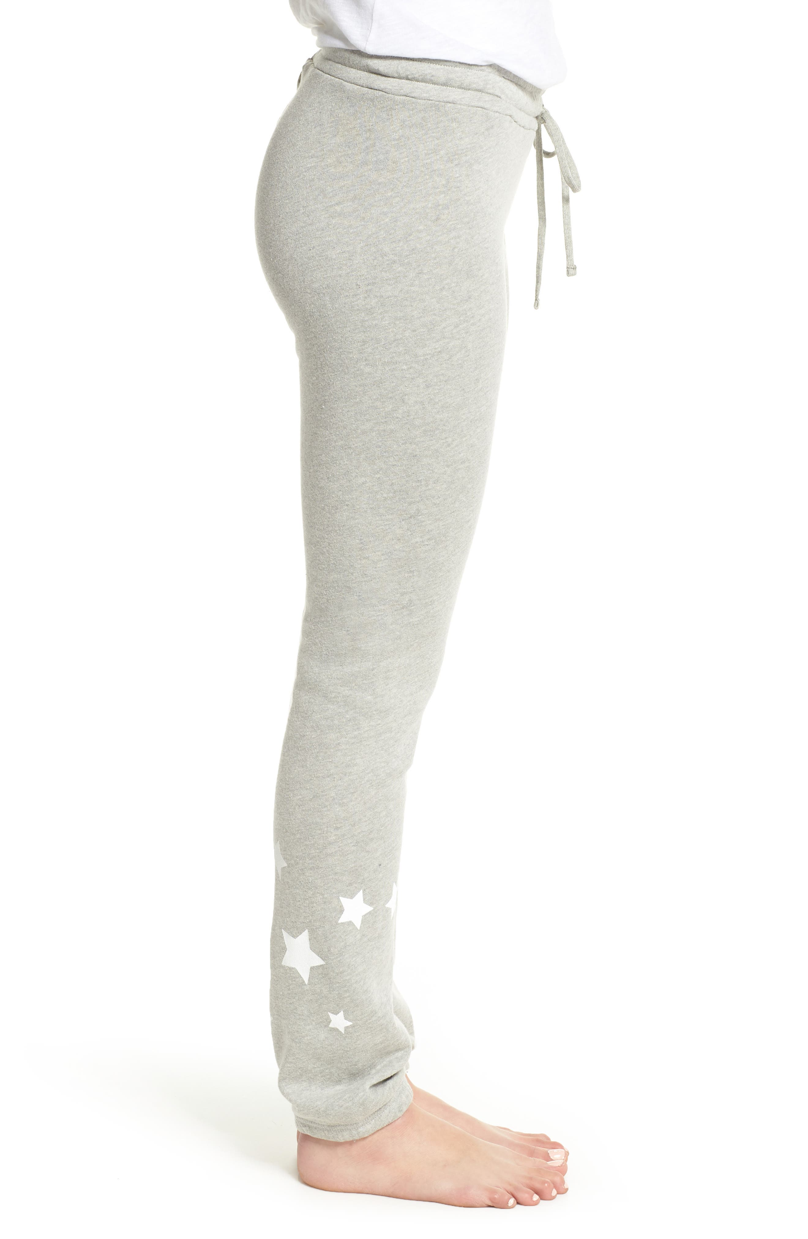 Campbell Vintage Jogger Pants,                             Alternate thumbnail 3, color,                             Heather Grey