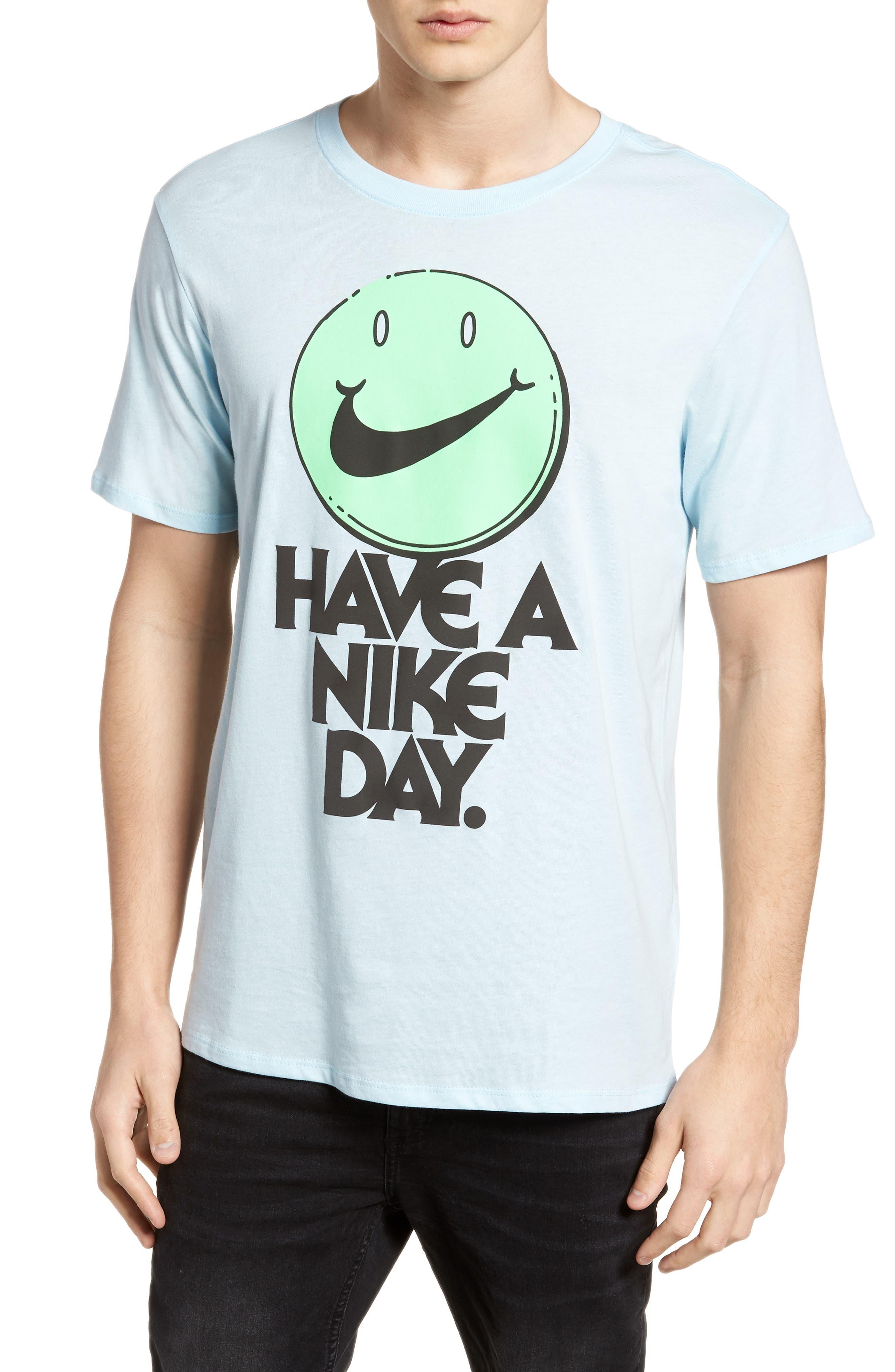 Concept Graphic T-Shirt,                         Main,                         color, Cobalt Tint/ Illusion Green