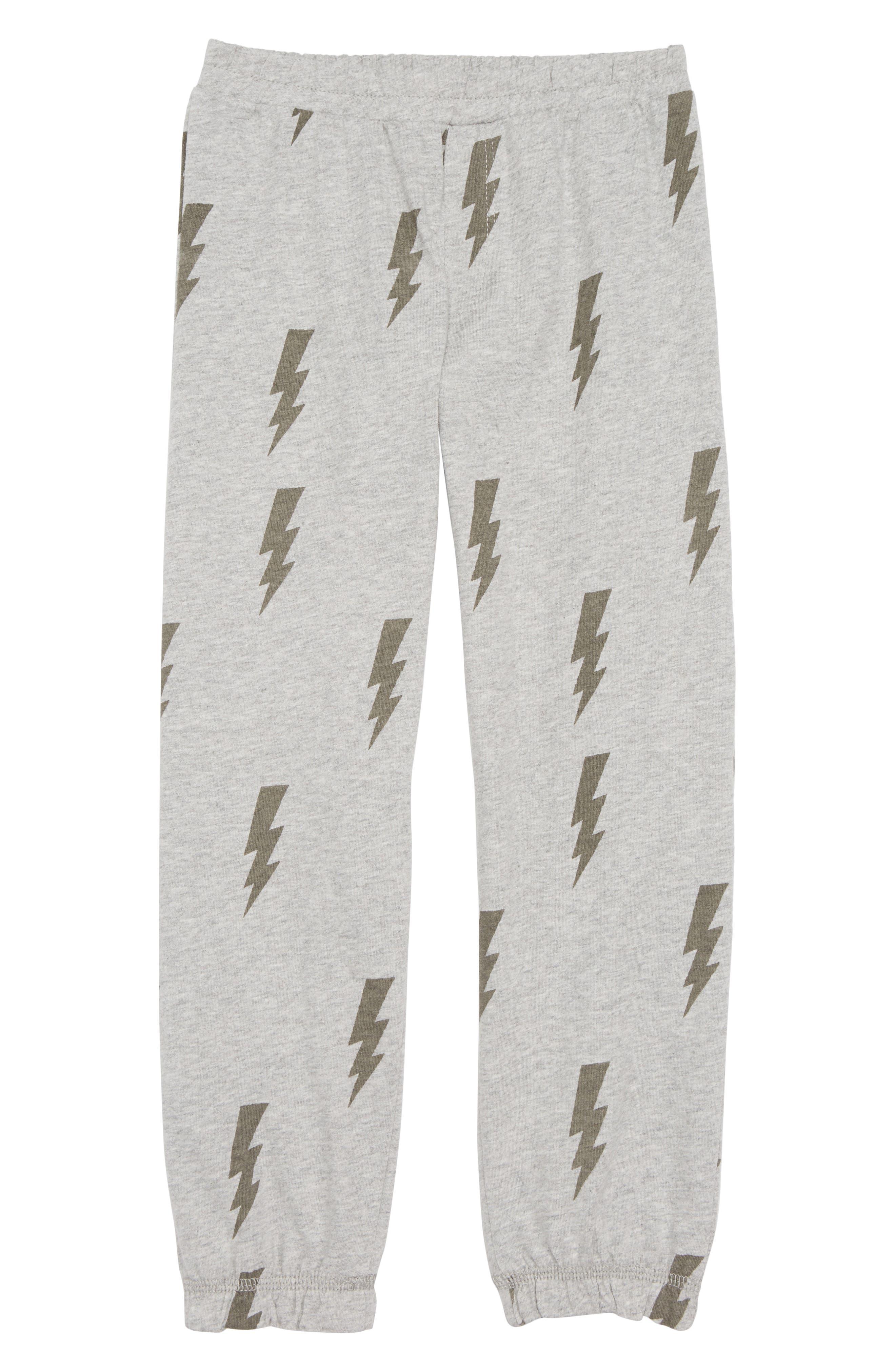 Lightning Toss Pants,                         Main,                         color, Heather Gray