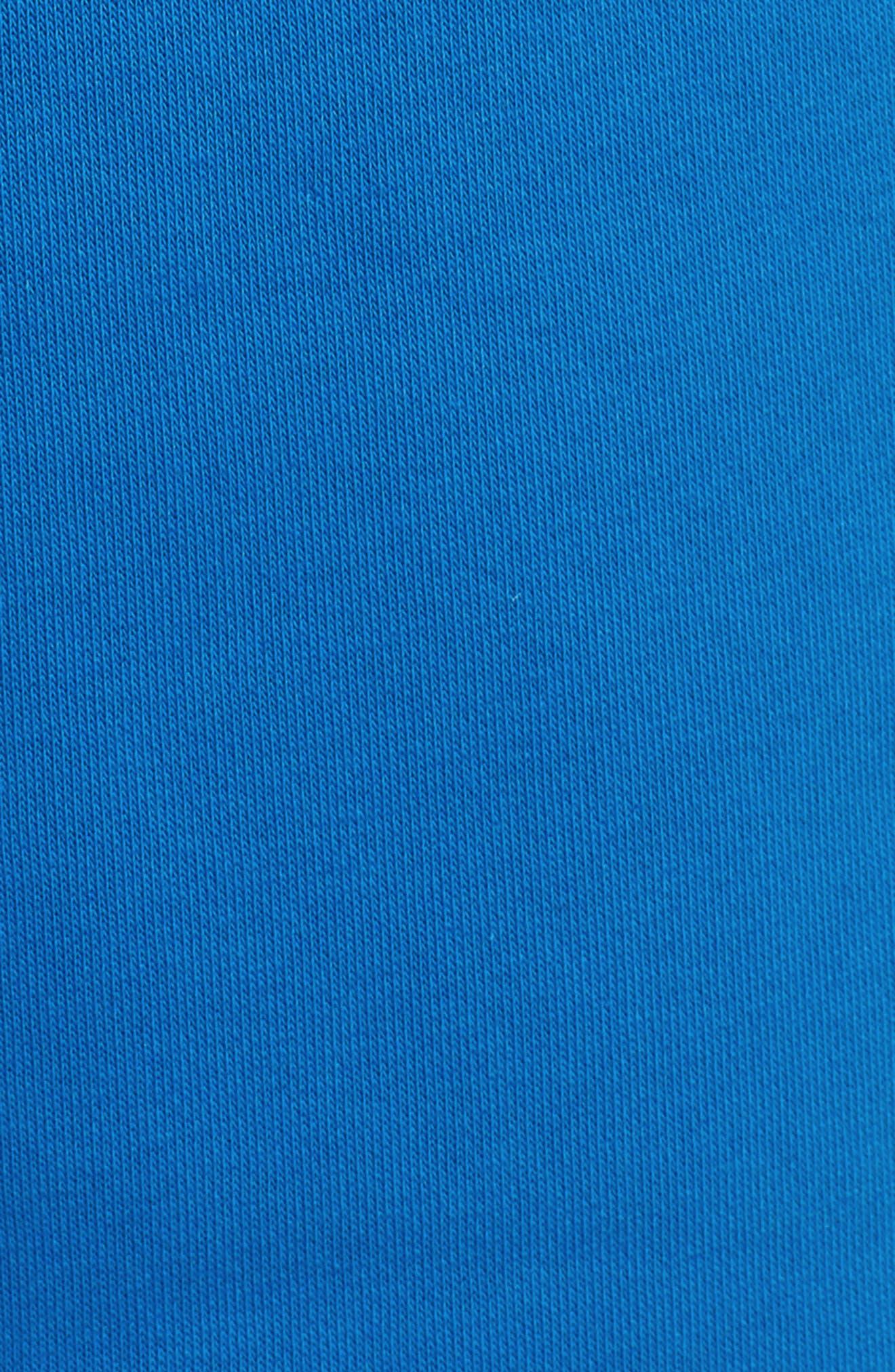 Sportswear Air Fleece Shorts,                             Alternate thumbnail 5, color,                             Blue Nebula/ Anthracite/ White