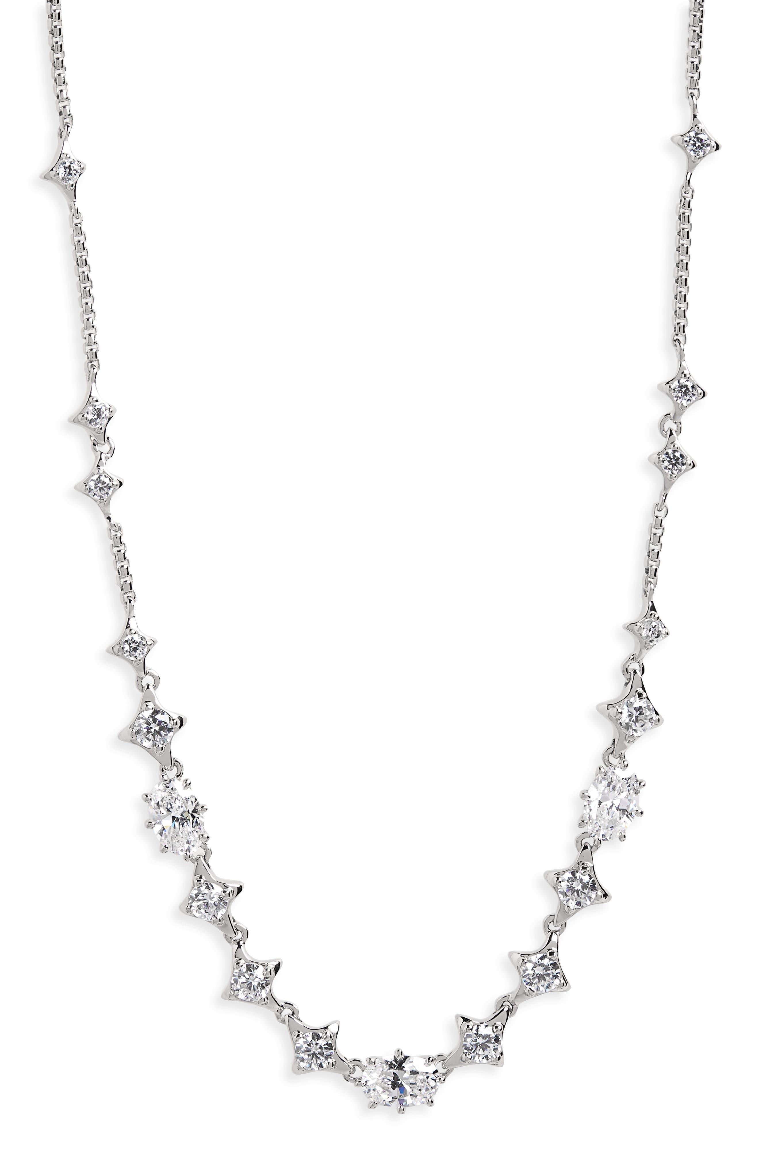 Alternate Image 2  - Nadri Boho Cubic Zirconia Necklace