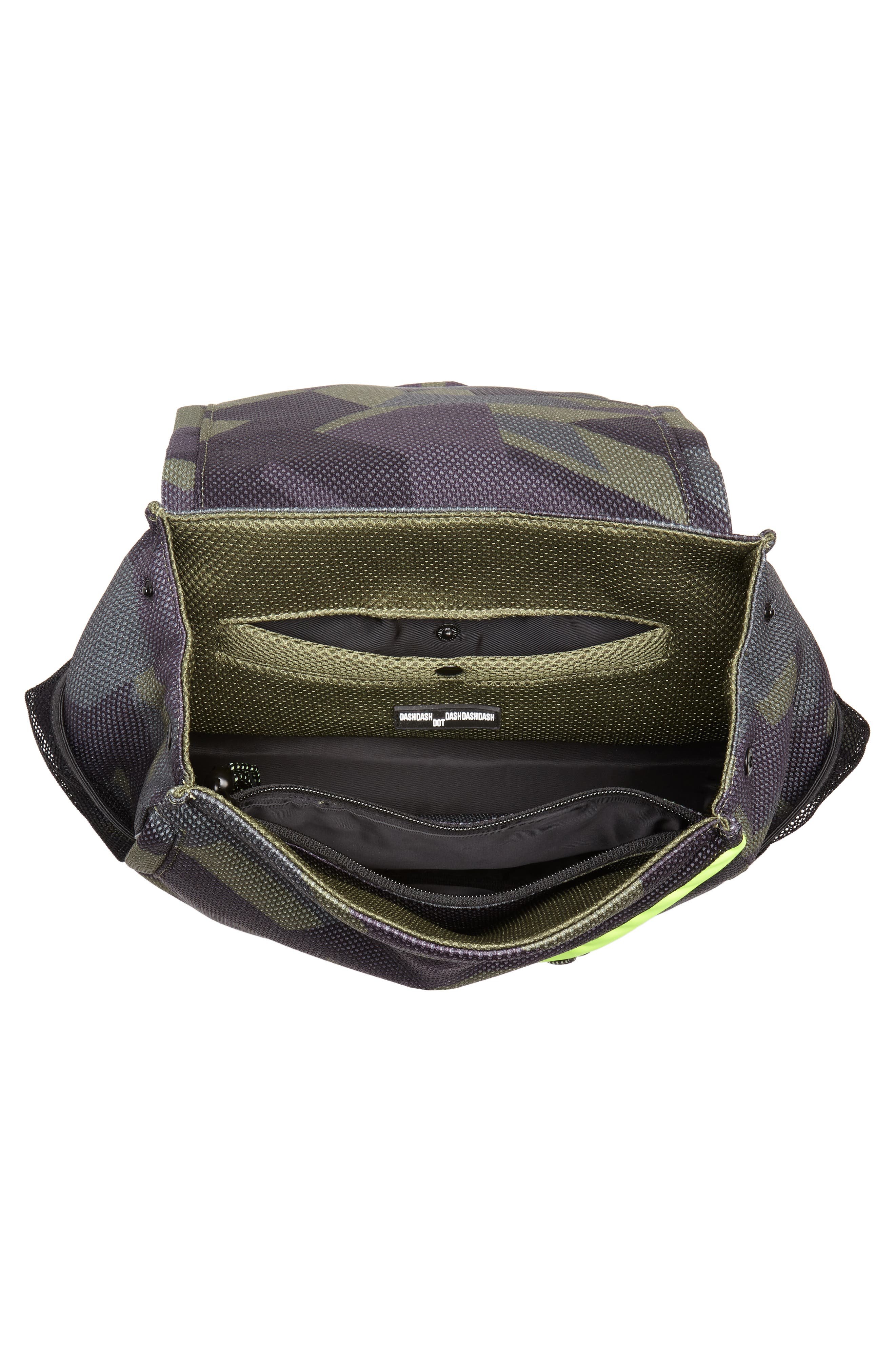 Water Resistant Backpack,                             Alternate thumbnail 4, color,                             Olive Camo