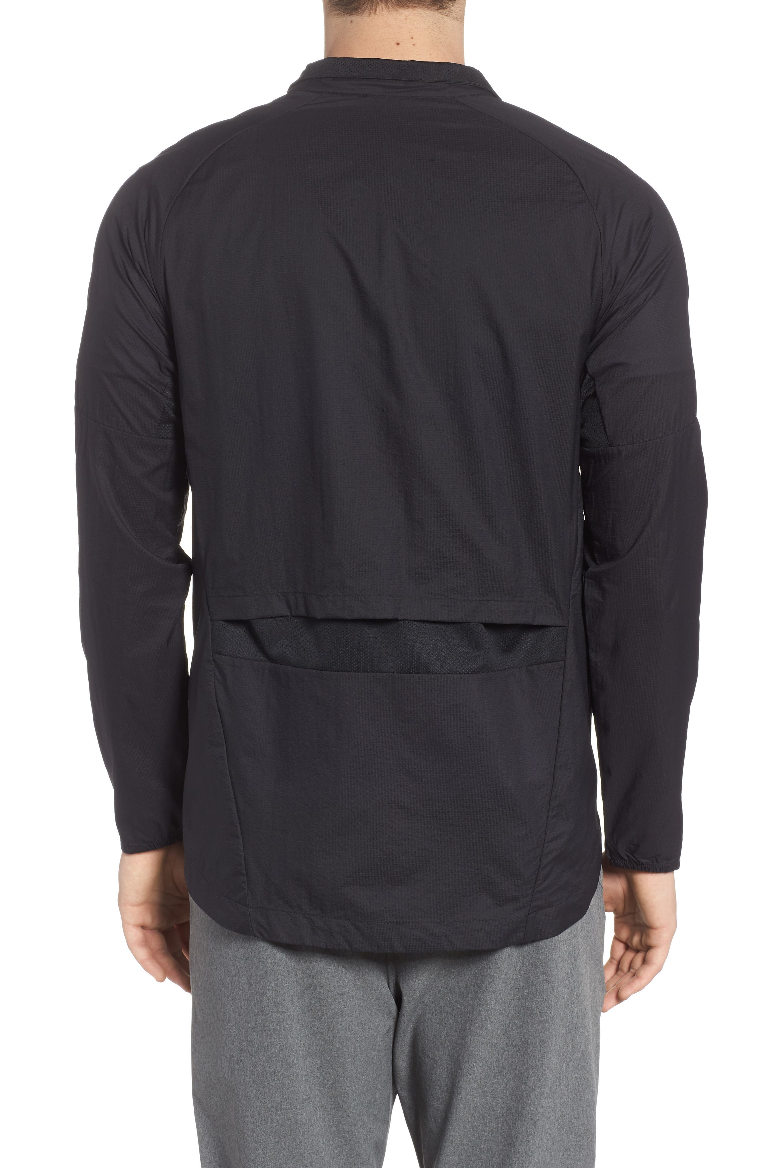 Run Division Jacket,                             Alternate thumbnail 2, color,                             Black