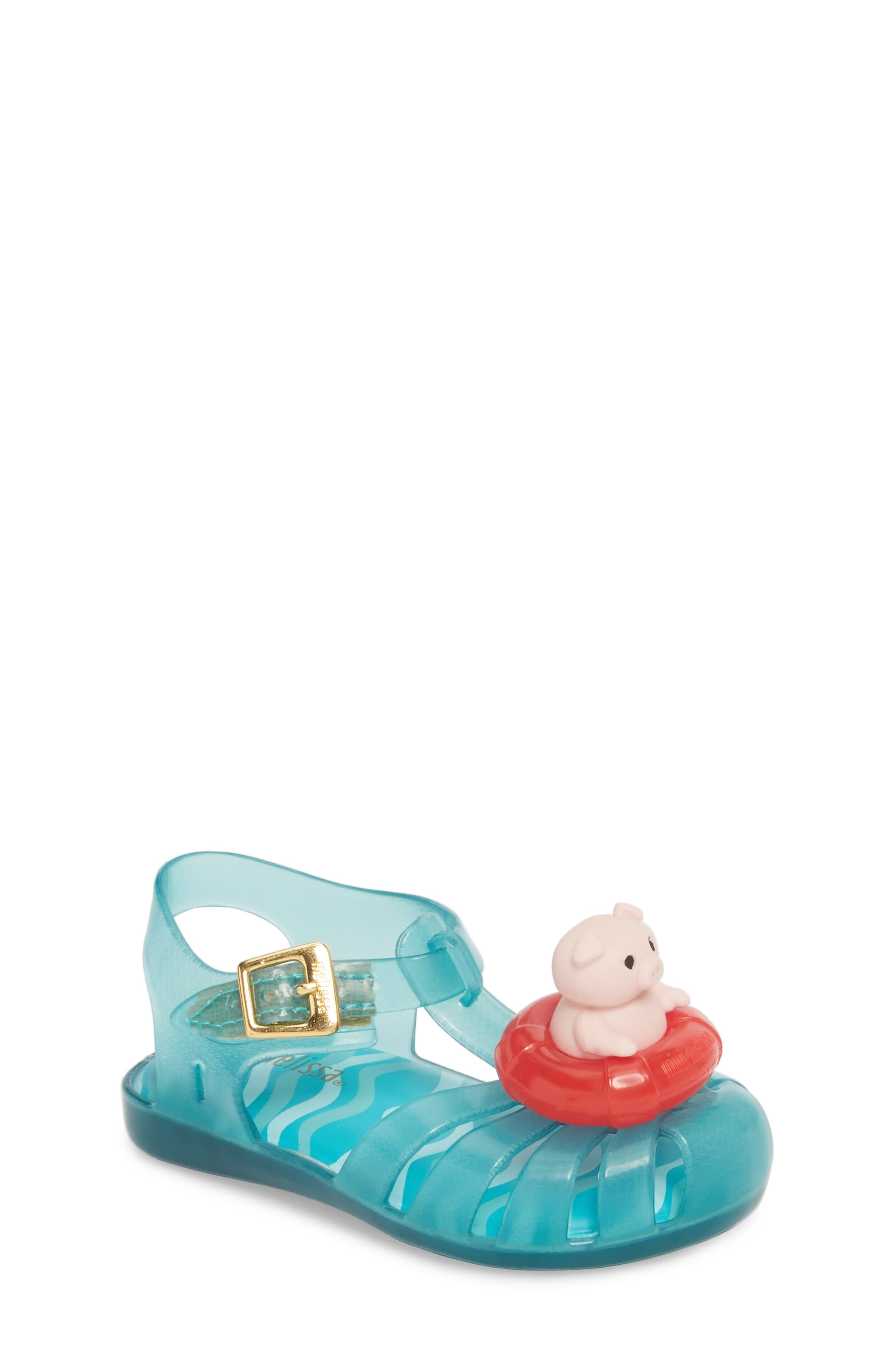 Mini Melissa Aranha XI Jelly Sandal (Walker & Toddler)