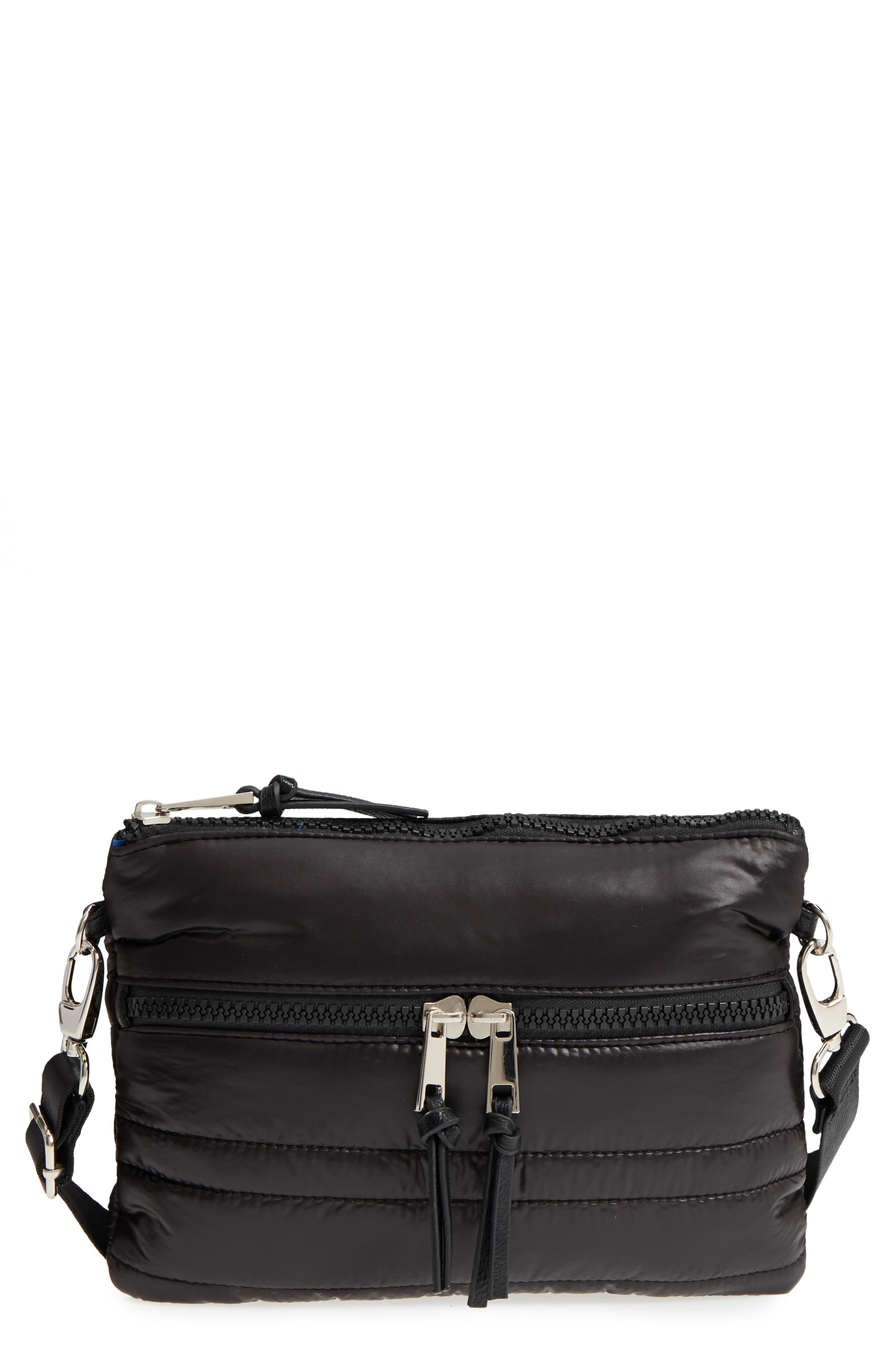 Quilted Crossbody Bag,                         Main,                         color, Black