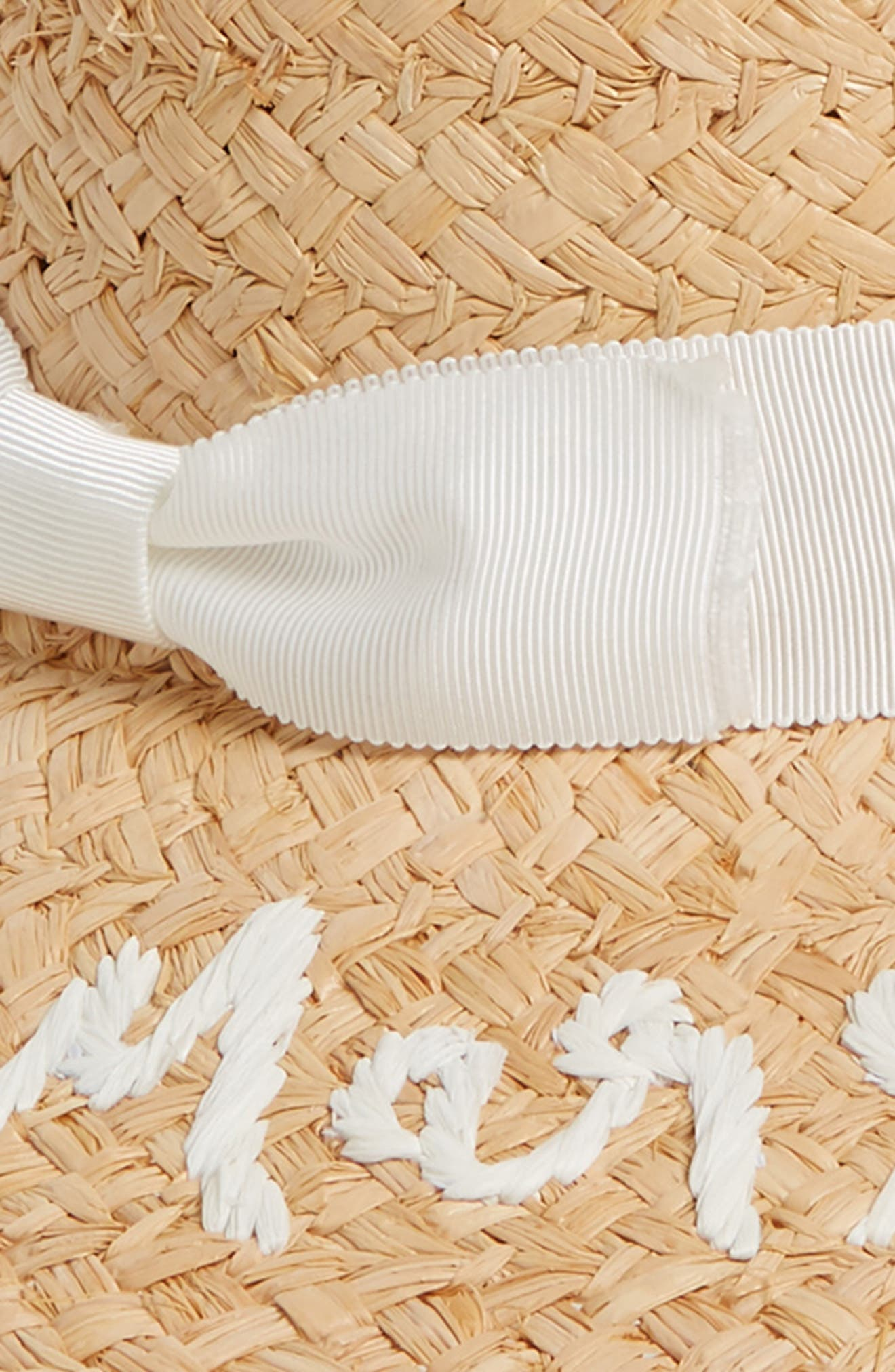 Alternate Image 2  - kate spade new york just married straw hat