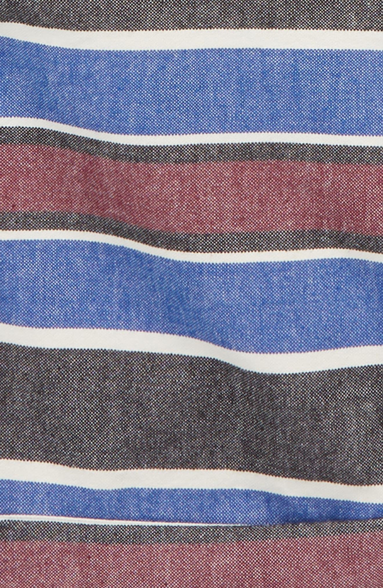 Stripe Chino Shorts,                             Alternate thumbnail 3, color,                             Combo Stripes