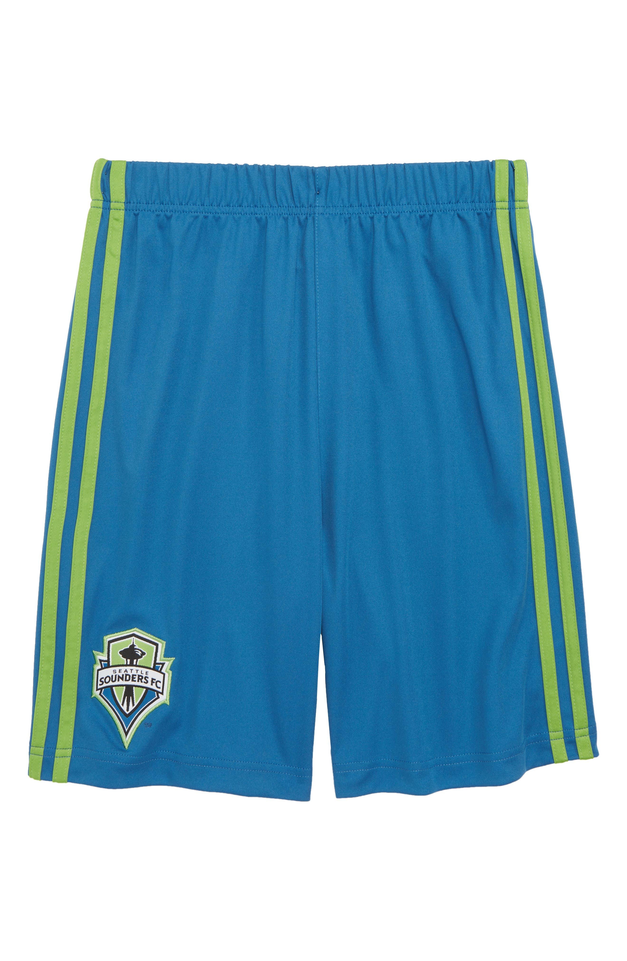Alternate Image 1 Selected - adidas MLS Seattle Sounders FC Shorts (Big Boys)