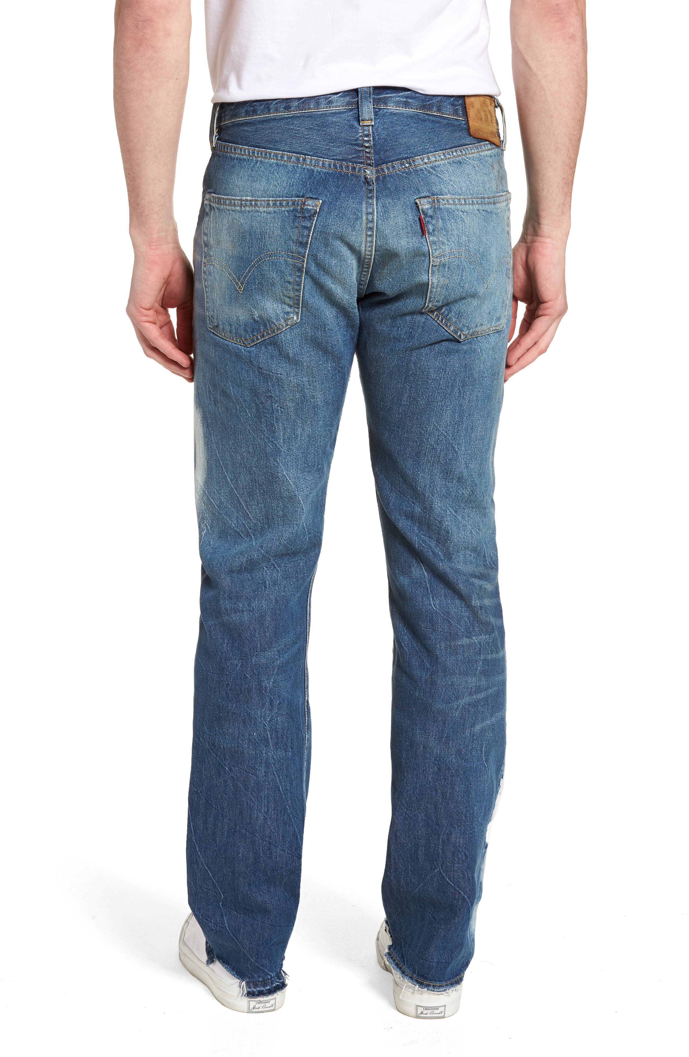 1947 501<sup>®</sup> Tapered Leg Jeans,                             Alternate thumbnail 2, color,                             Reef Break