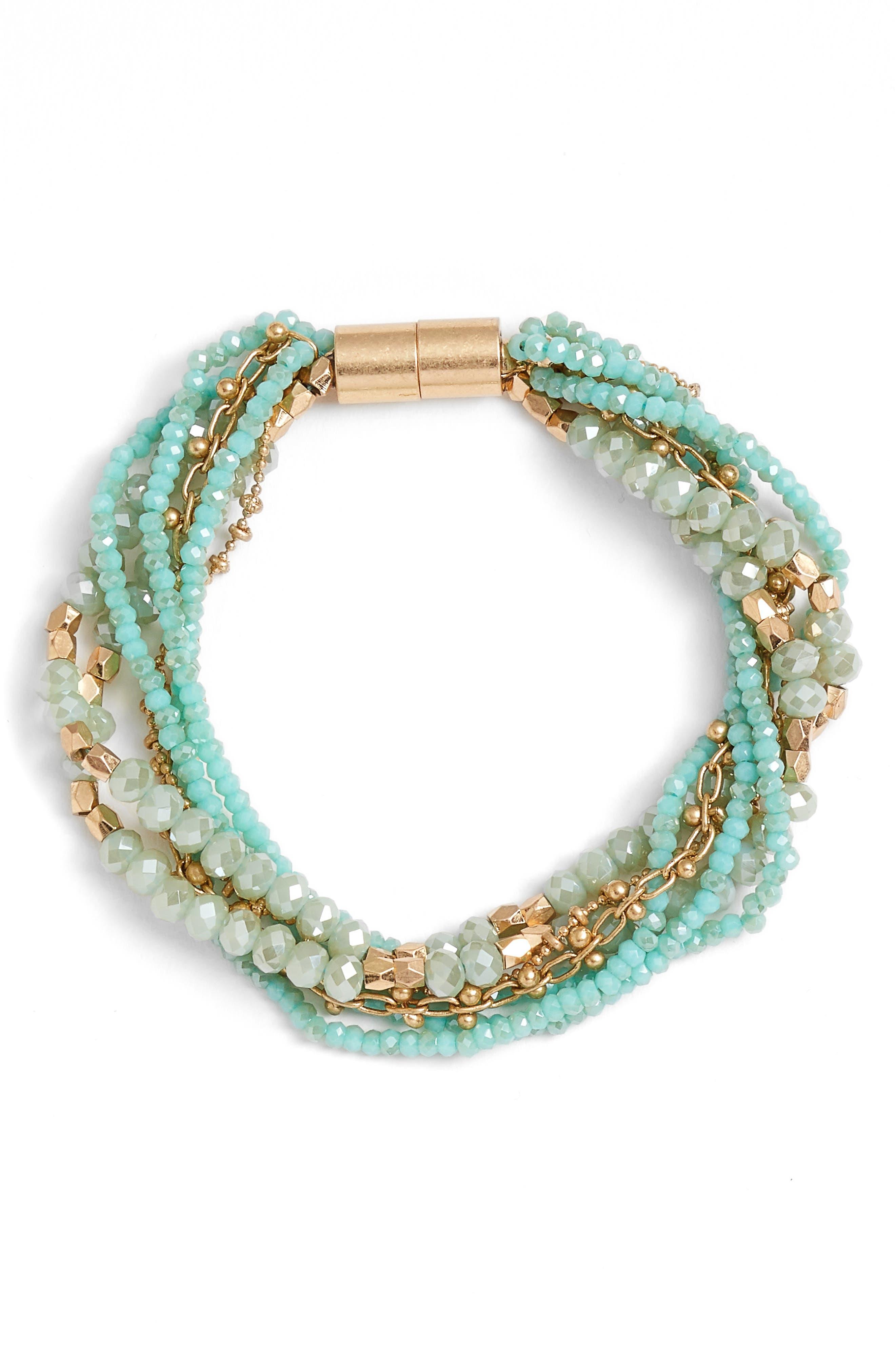 Main Image - Treasure & Bond Layered Strand Bracelet